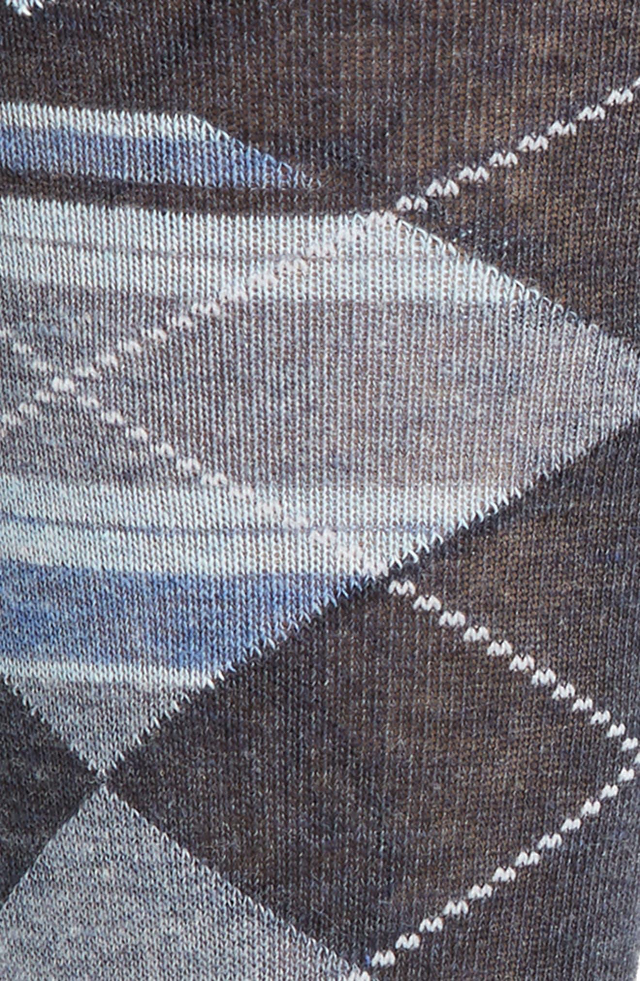 Alternate Image 2  - Nordstrom Men's Shop Multistripe Argyle Socks