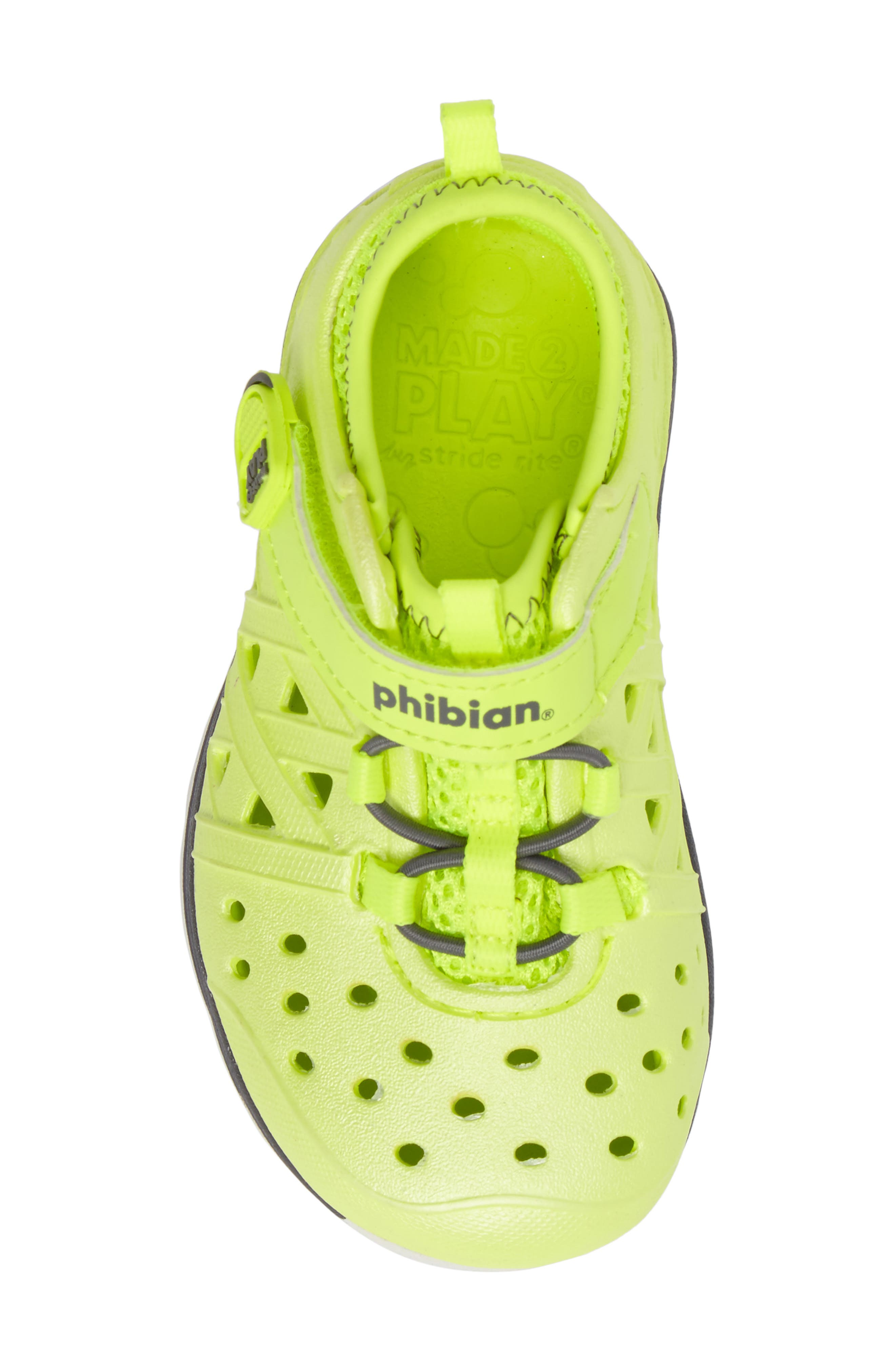 Made2Play<sup>®</sup> Phibian Sneaker,                             Alternate thumbnail 5, color,                             Citron Metallic