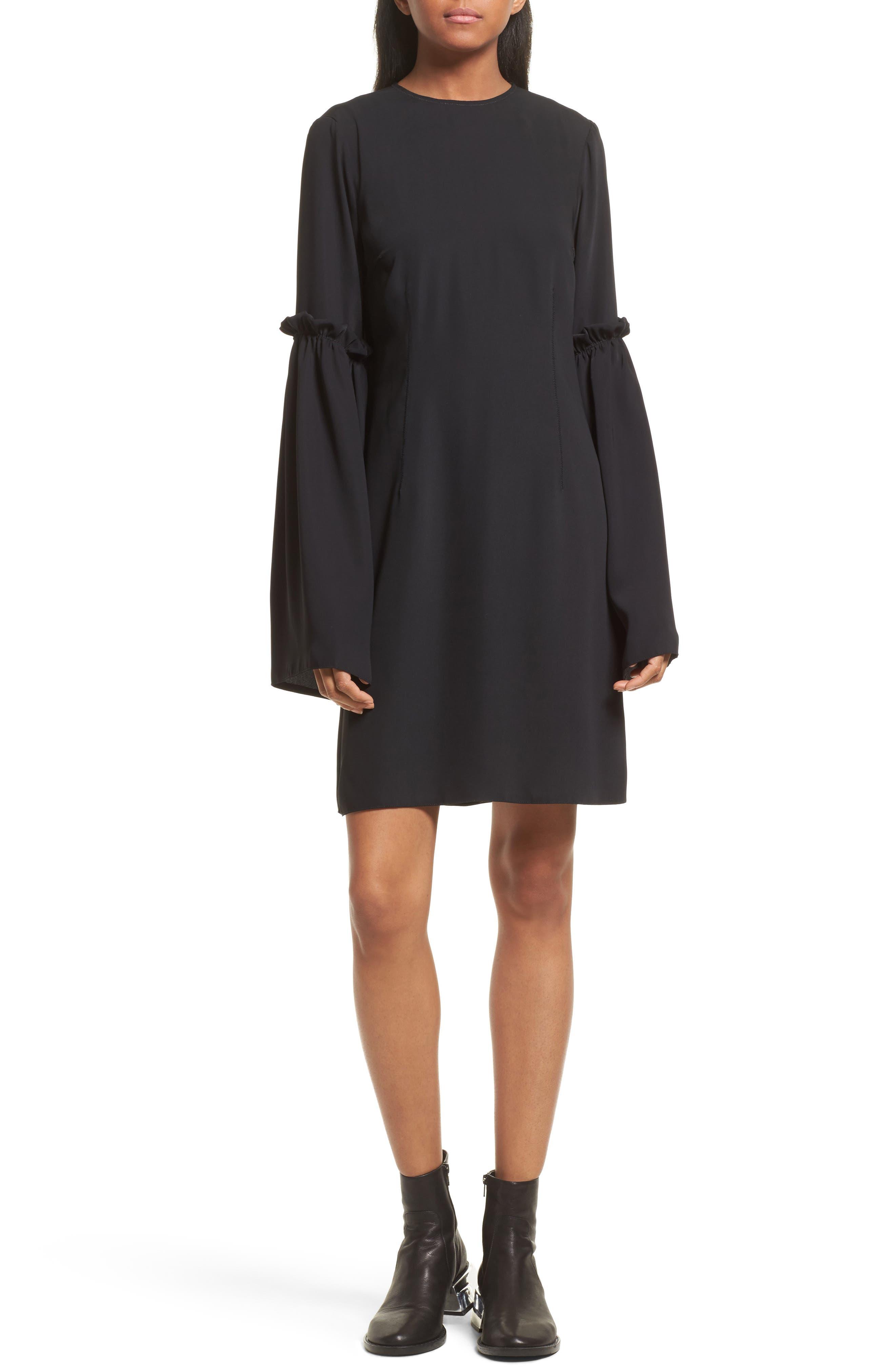 MM6 Maison Margiela Bell Sleeve Shift Dress