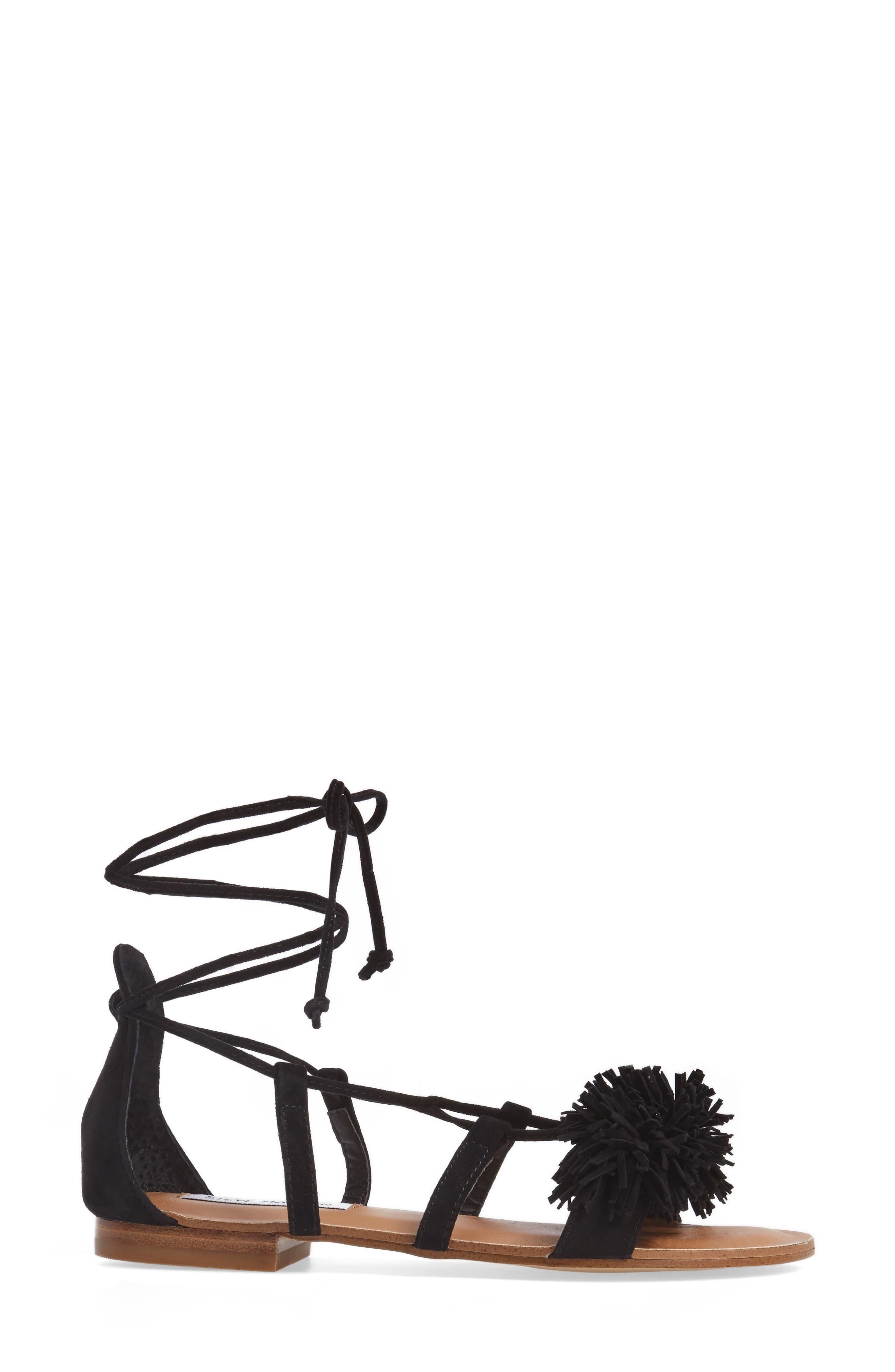 Alternate Image 3  - Steve Madden Swizzle Lace-Up Sandal (Women)