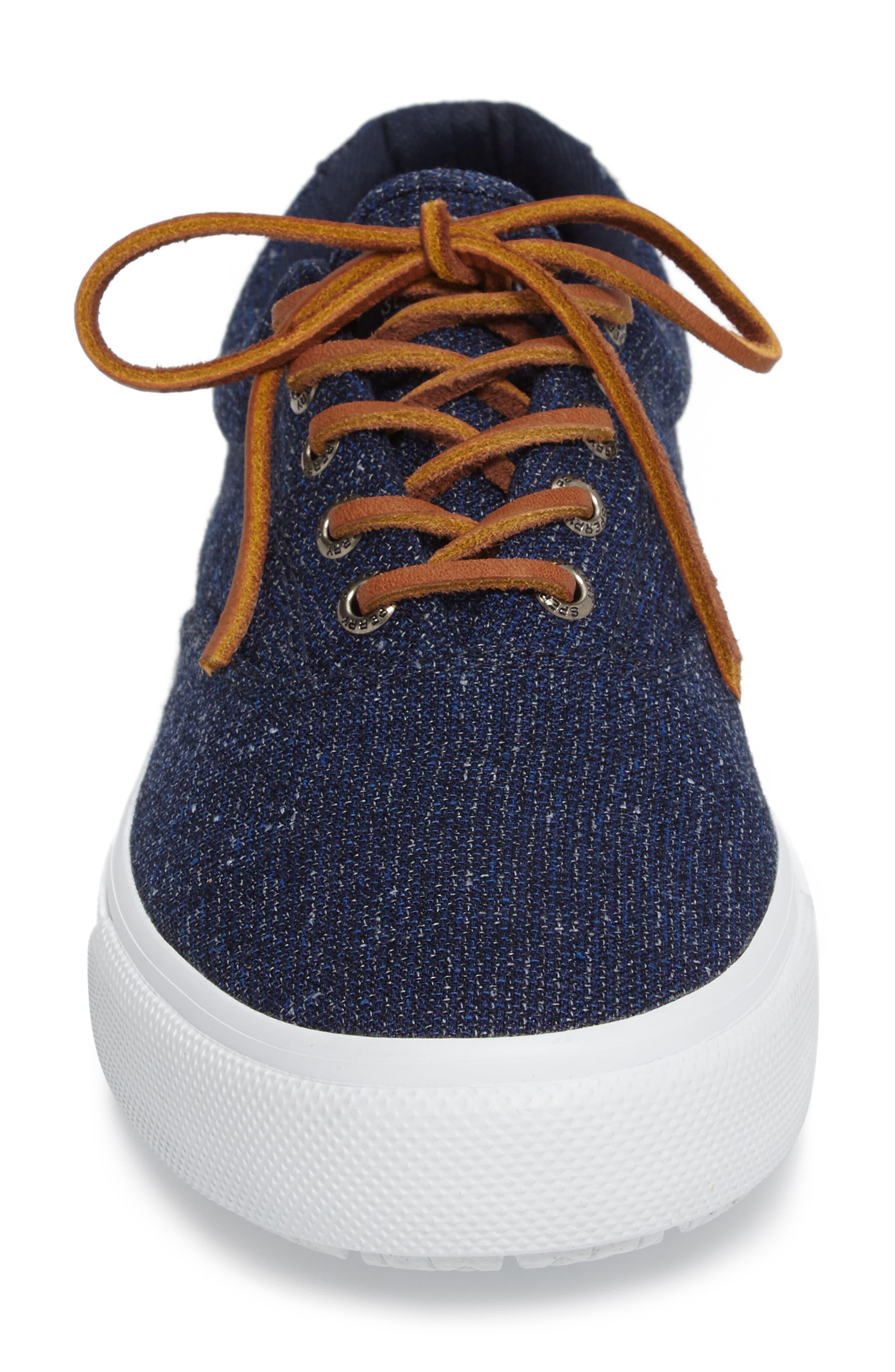 'Striper LL' Sneaker,                             Alternate thumbnail 4, color,                             Navy