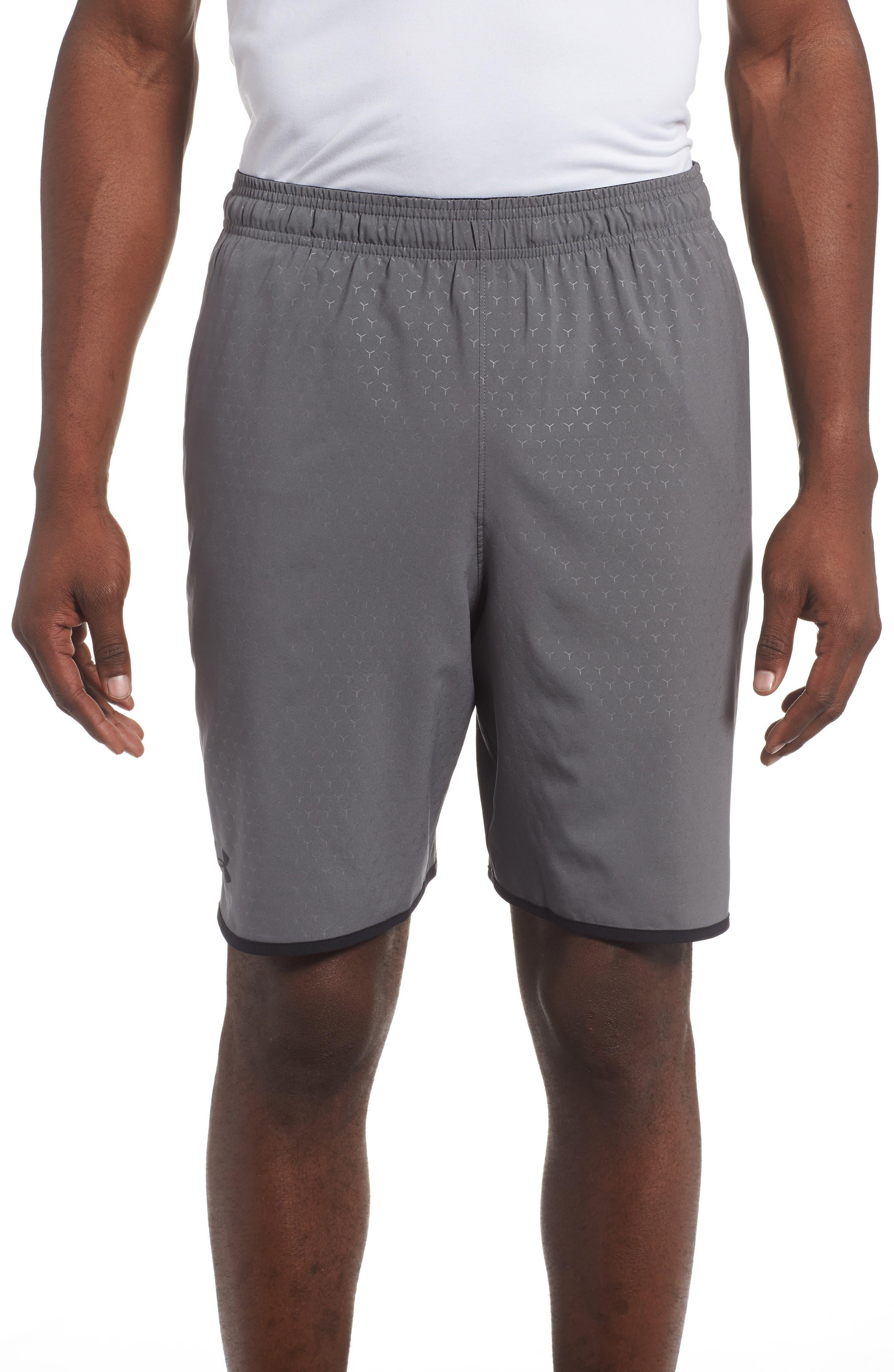 Qualifier Training Shorts,                         Main,                         color, Graphite/ Black