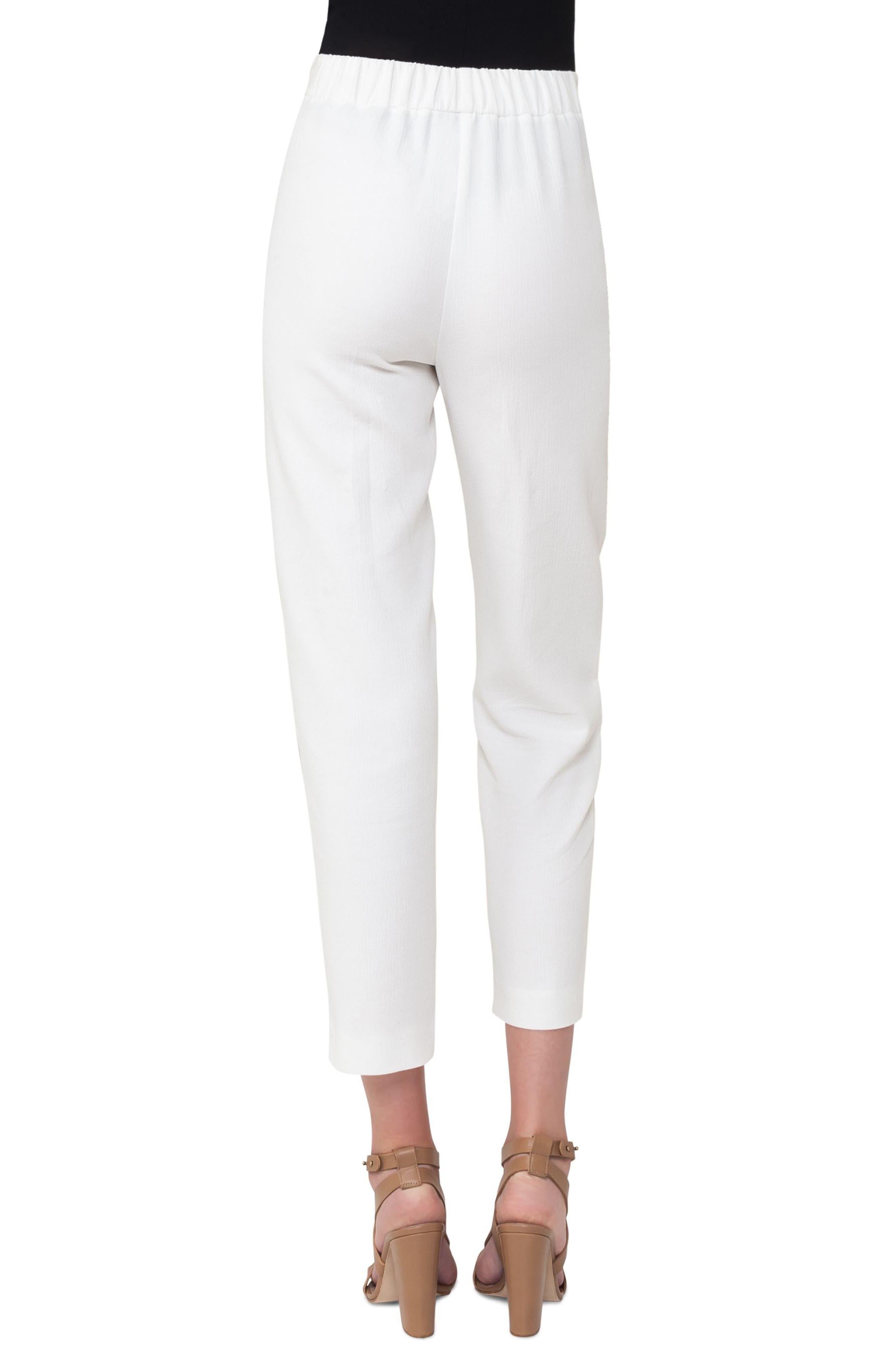 Fortuna Pleated Pants,                             Alternate thumbnail 2, color,                             Cream