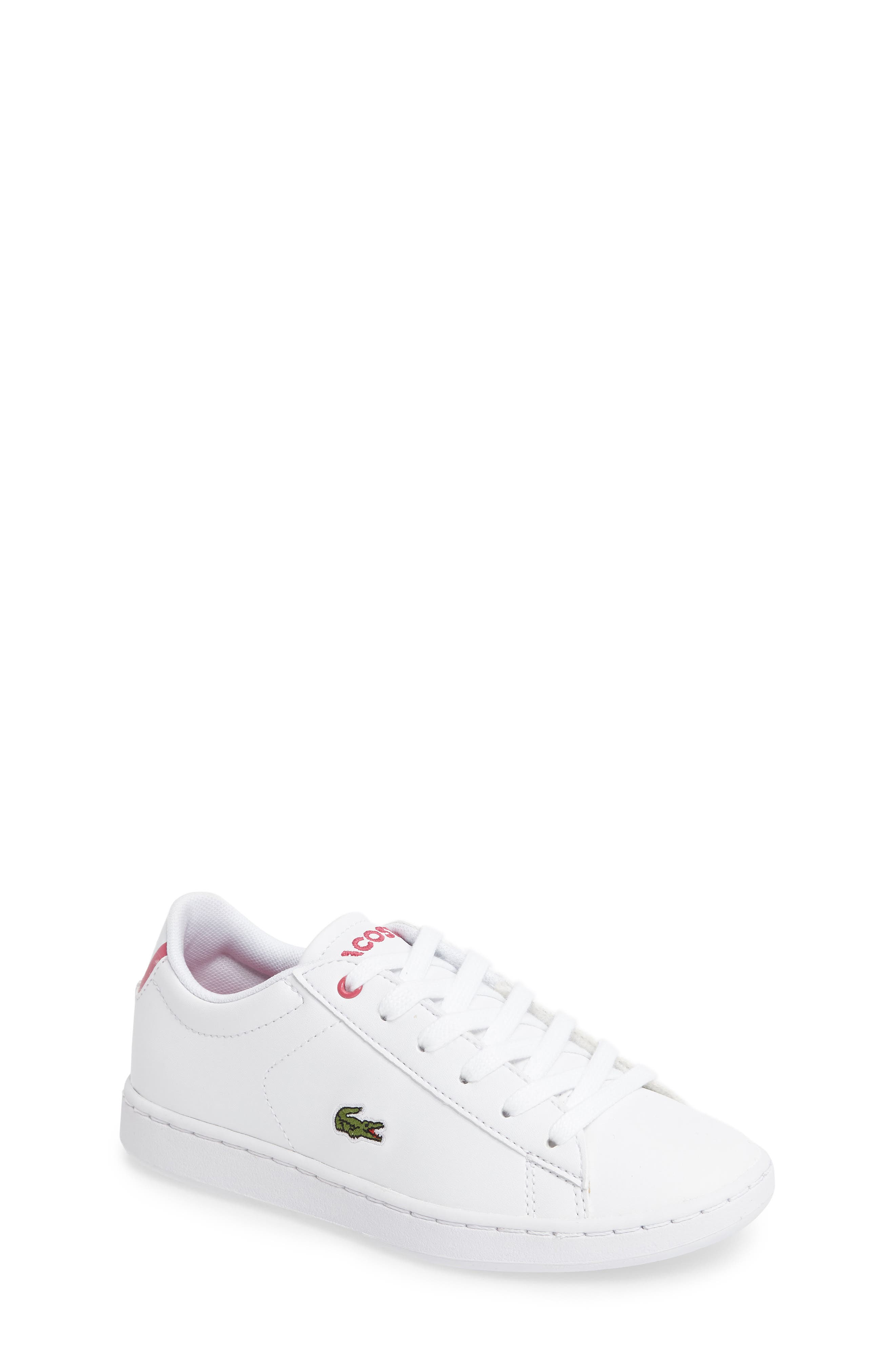 Carnaby EVO Sneaker,                             Main thumbnail 1, color,                             White/ Pink