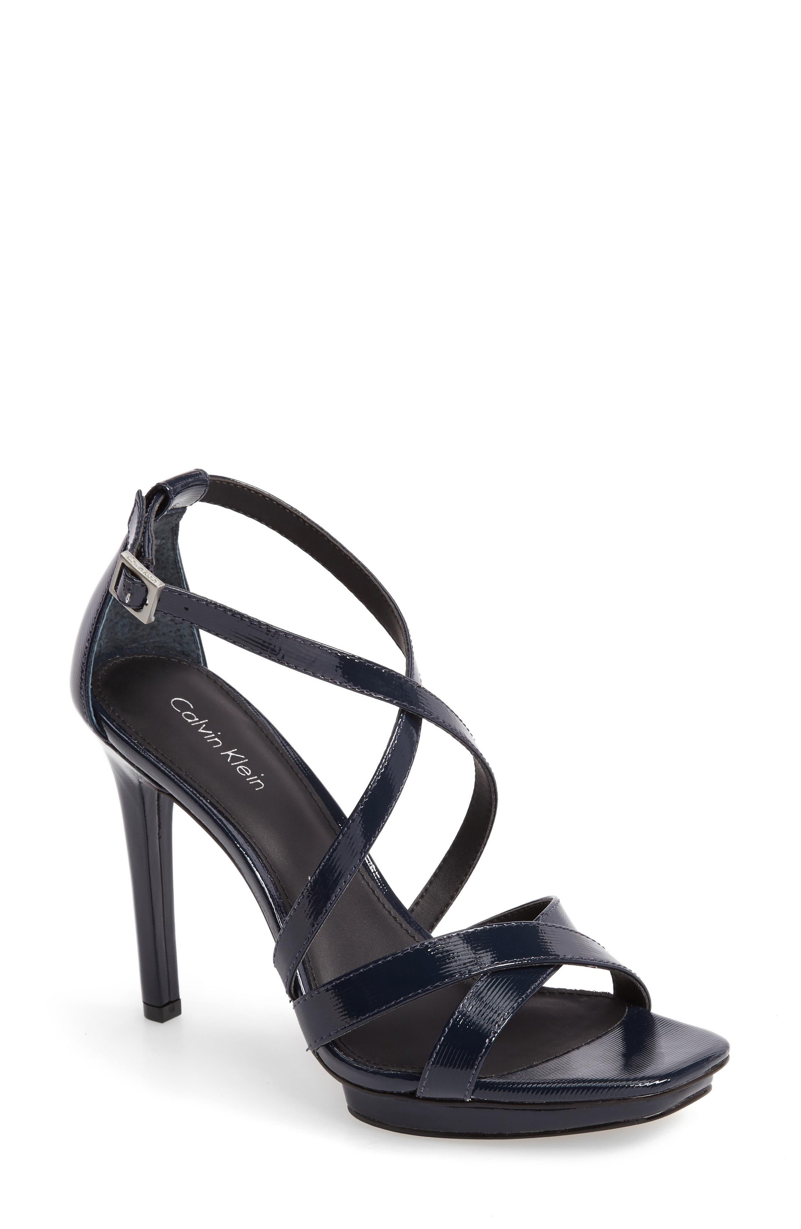 CALVIN KLEIN Vonnie Platform Sandal