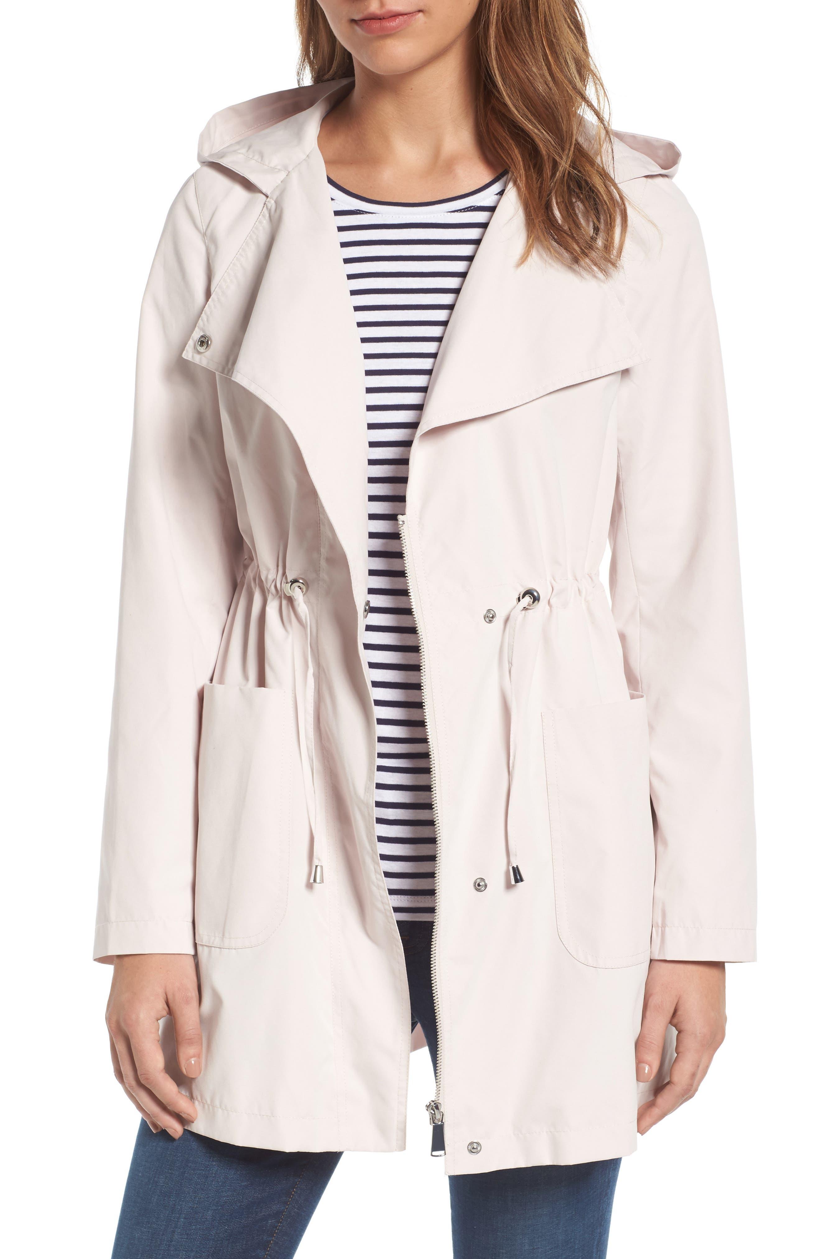 Caslon® Swing Back Coat (Regular & Petite)