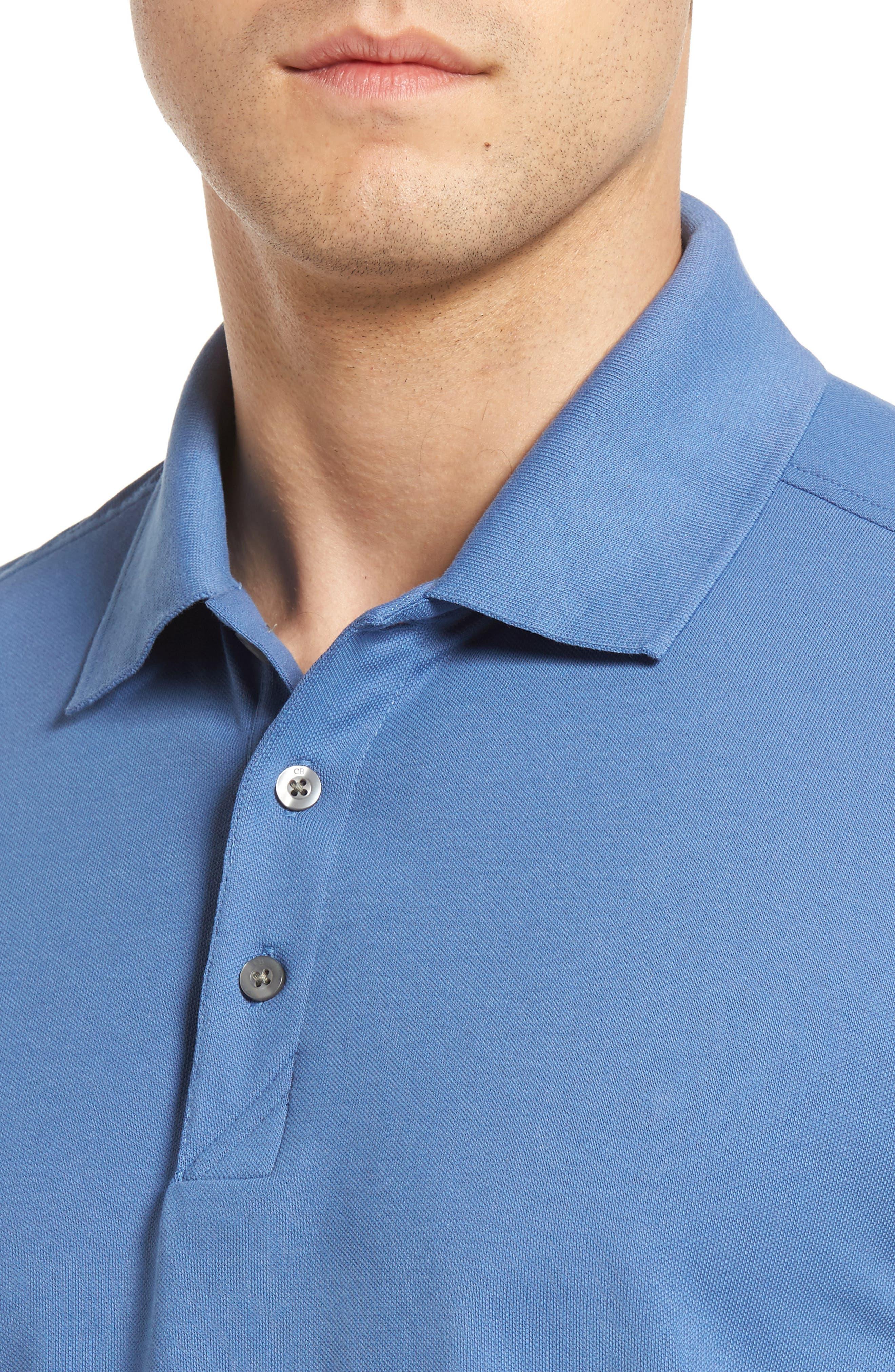 Advantage Golf Polo,                             Alternate thumbnail 4, color,                             Sea Blue
