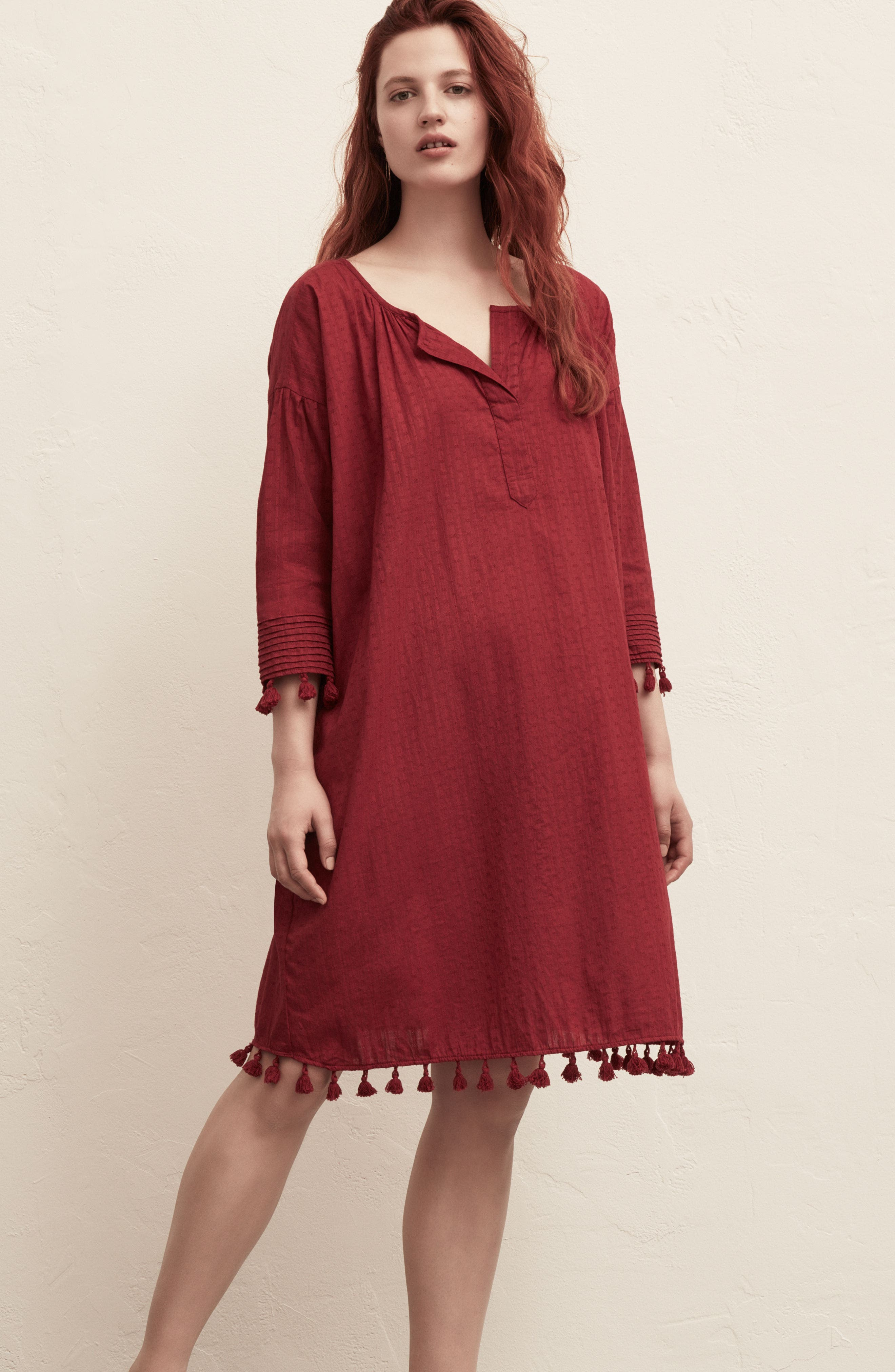 Alternate Image 6  - THE GREAT. The Tassel Tunic Dress
