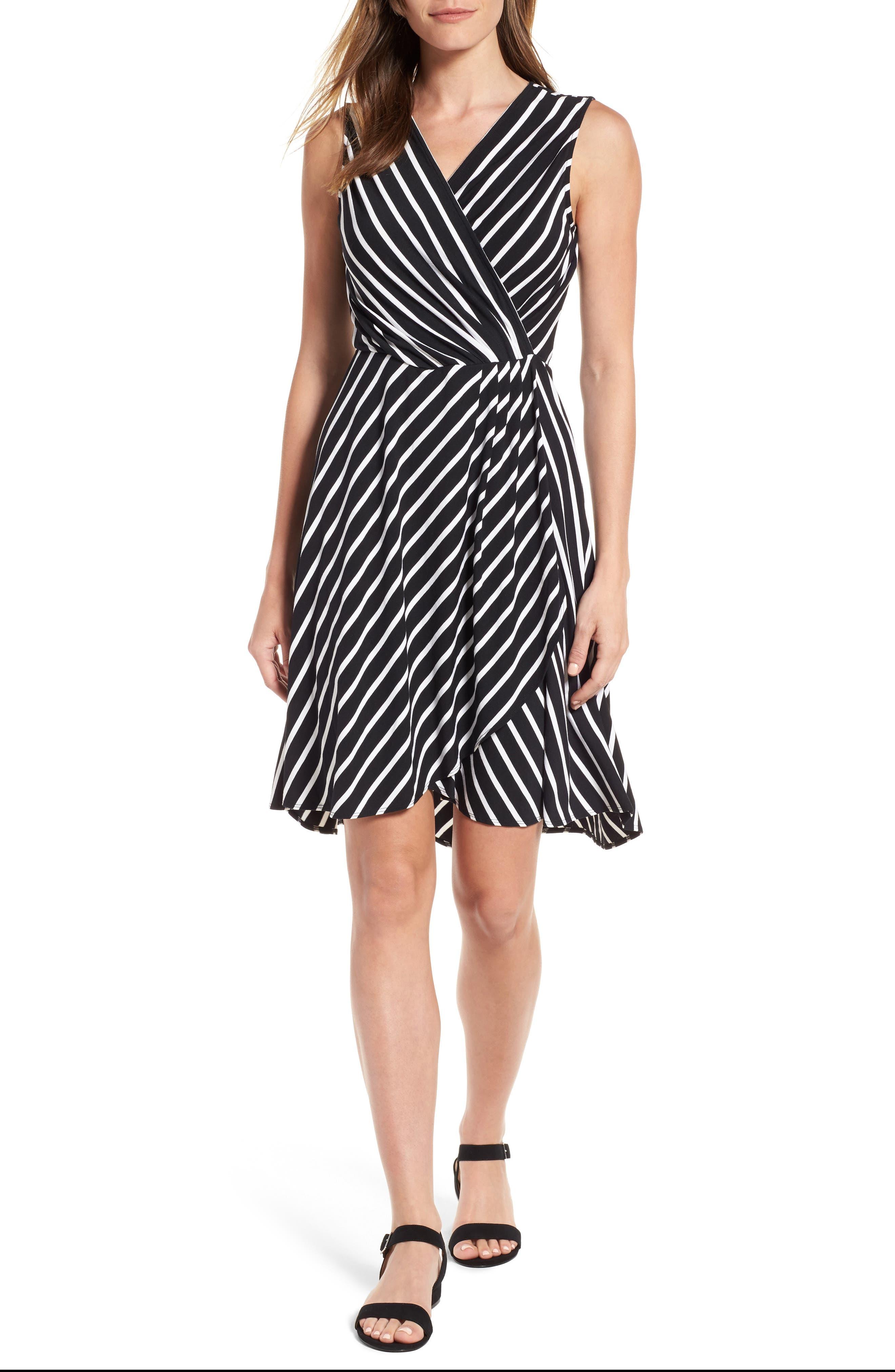 Tommy Bahama Faux Wrap Jersey Dress
