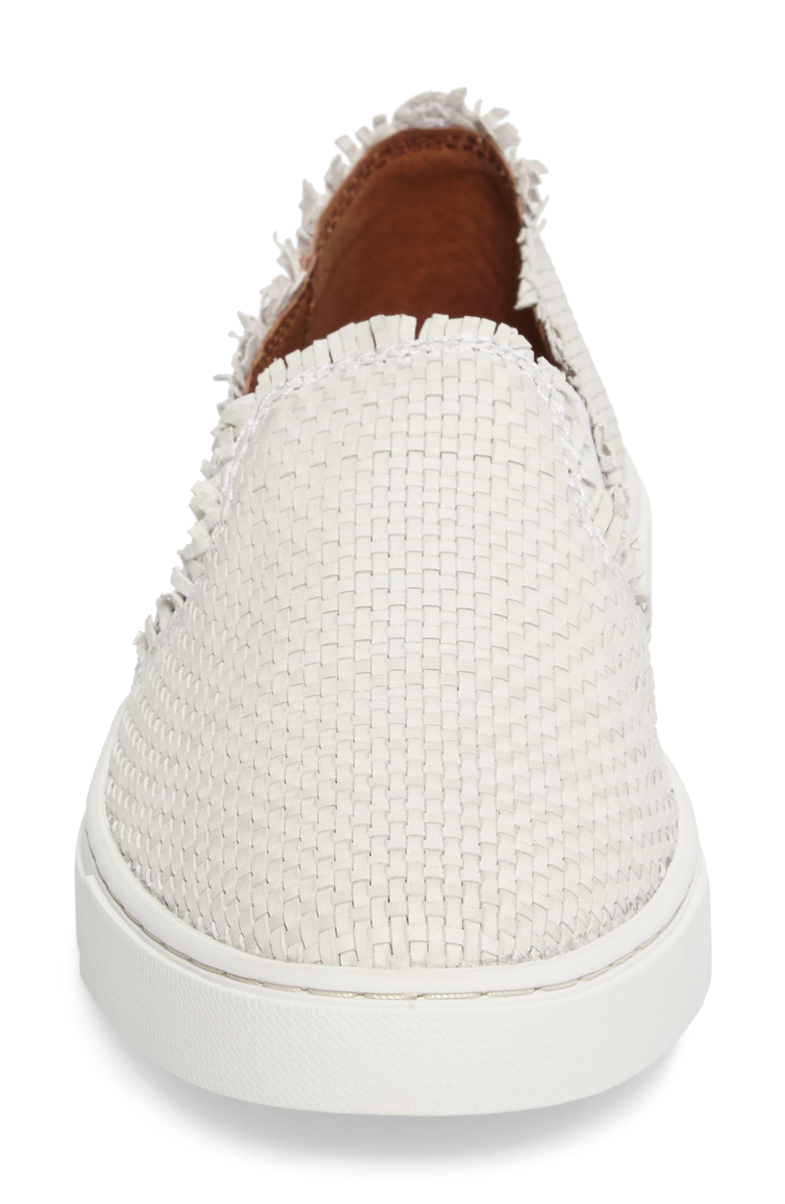 Alternate Image 4  - Frye Ivy Fray Woven Slip-On Sneaker (Women)