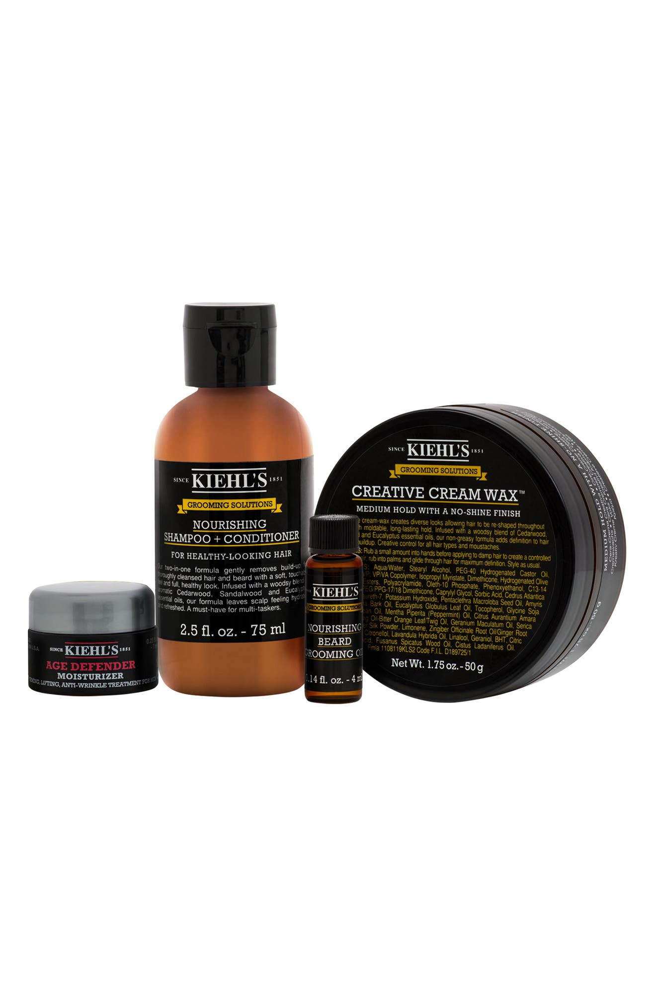 Alternate Image 2  - Kiehl's Since 1851 Men's Grooming Set