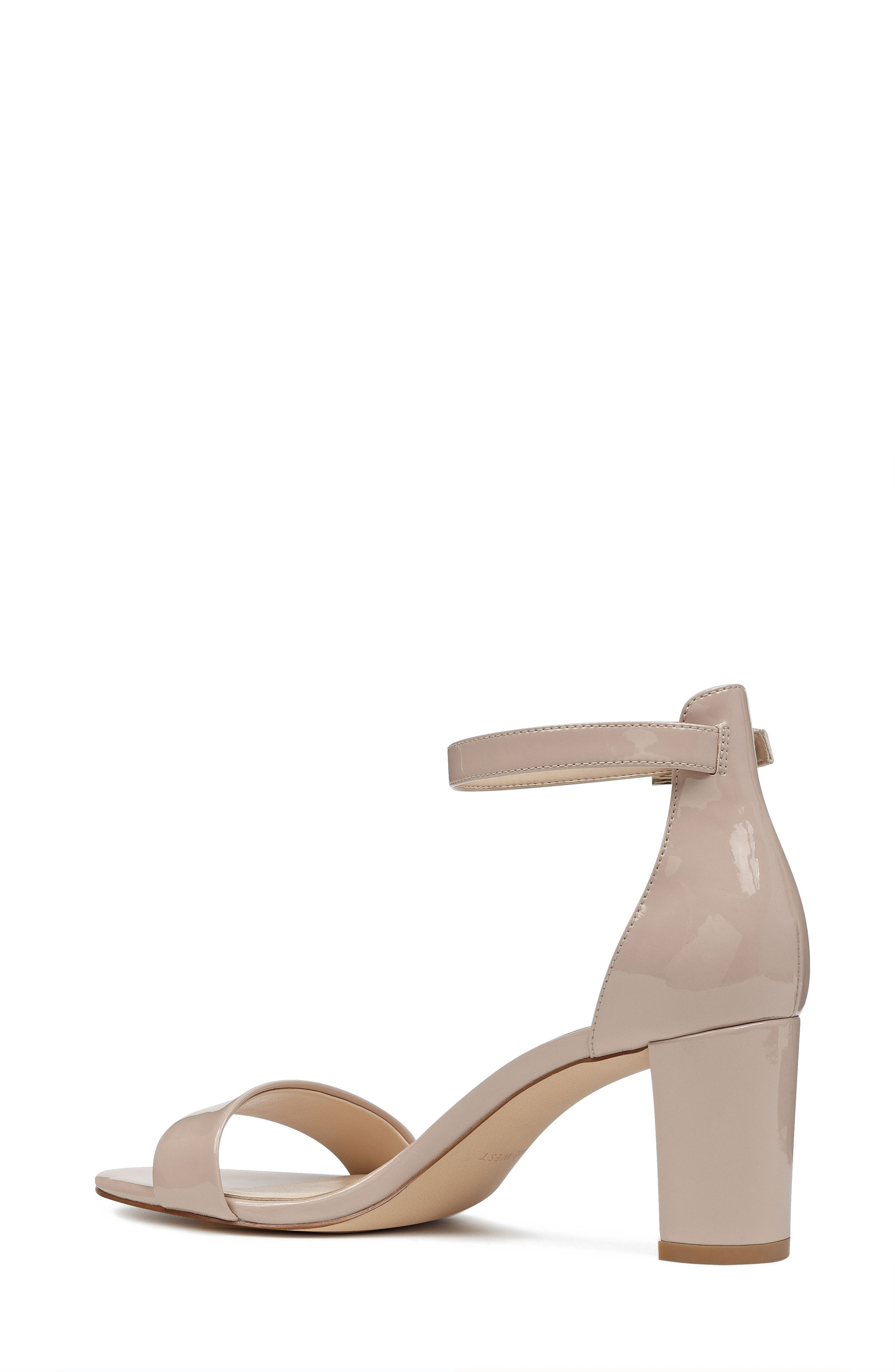 Pruce Ankle Strap Sandal,                             Alternate thumbnail 2, color,                             Natural Patent