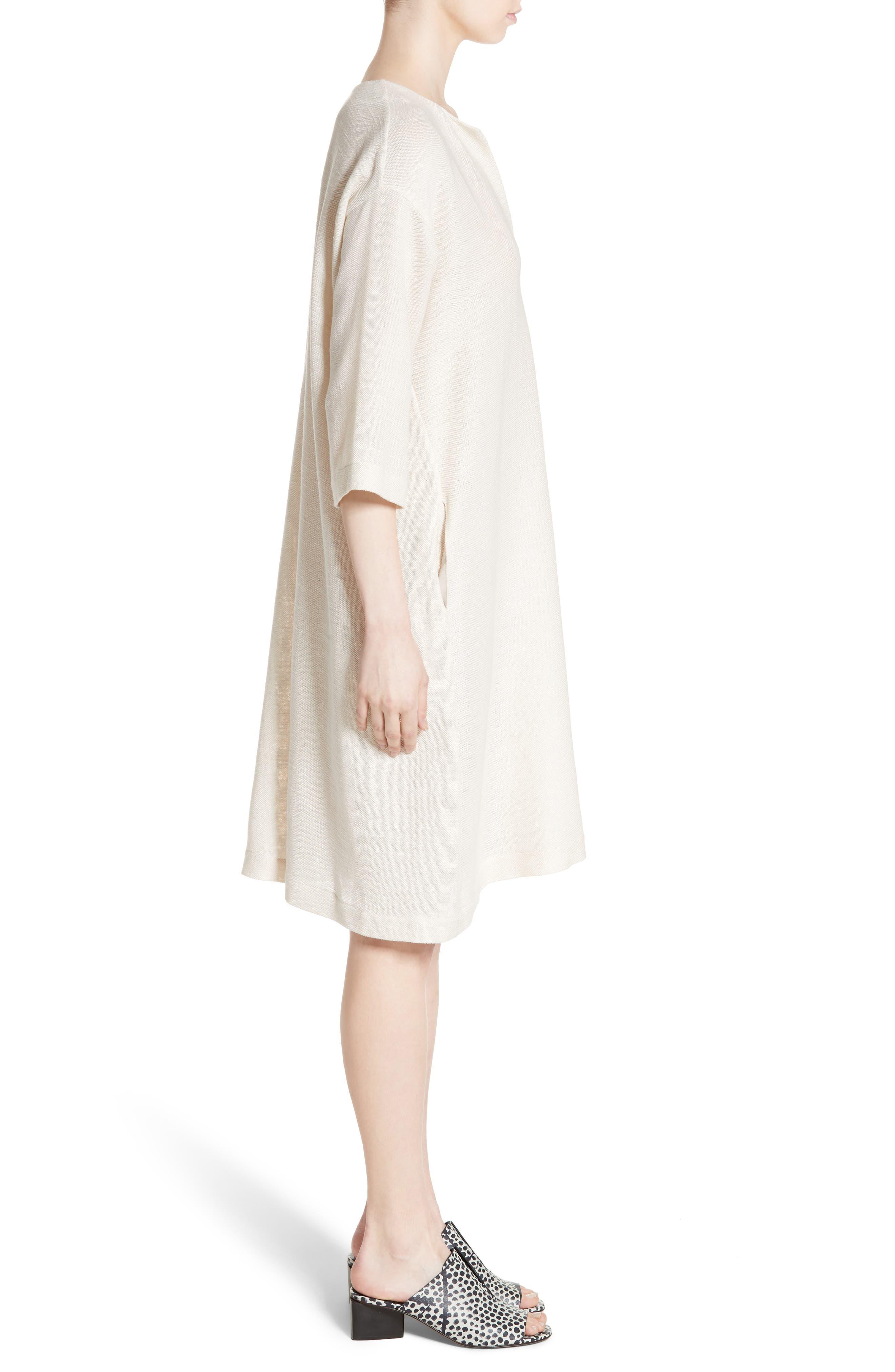 Alternate Image 5  - Zero + Maria Cornejo MC Mesh Drape Dress