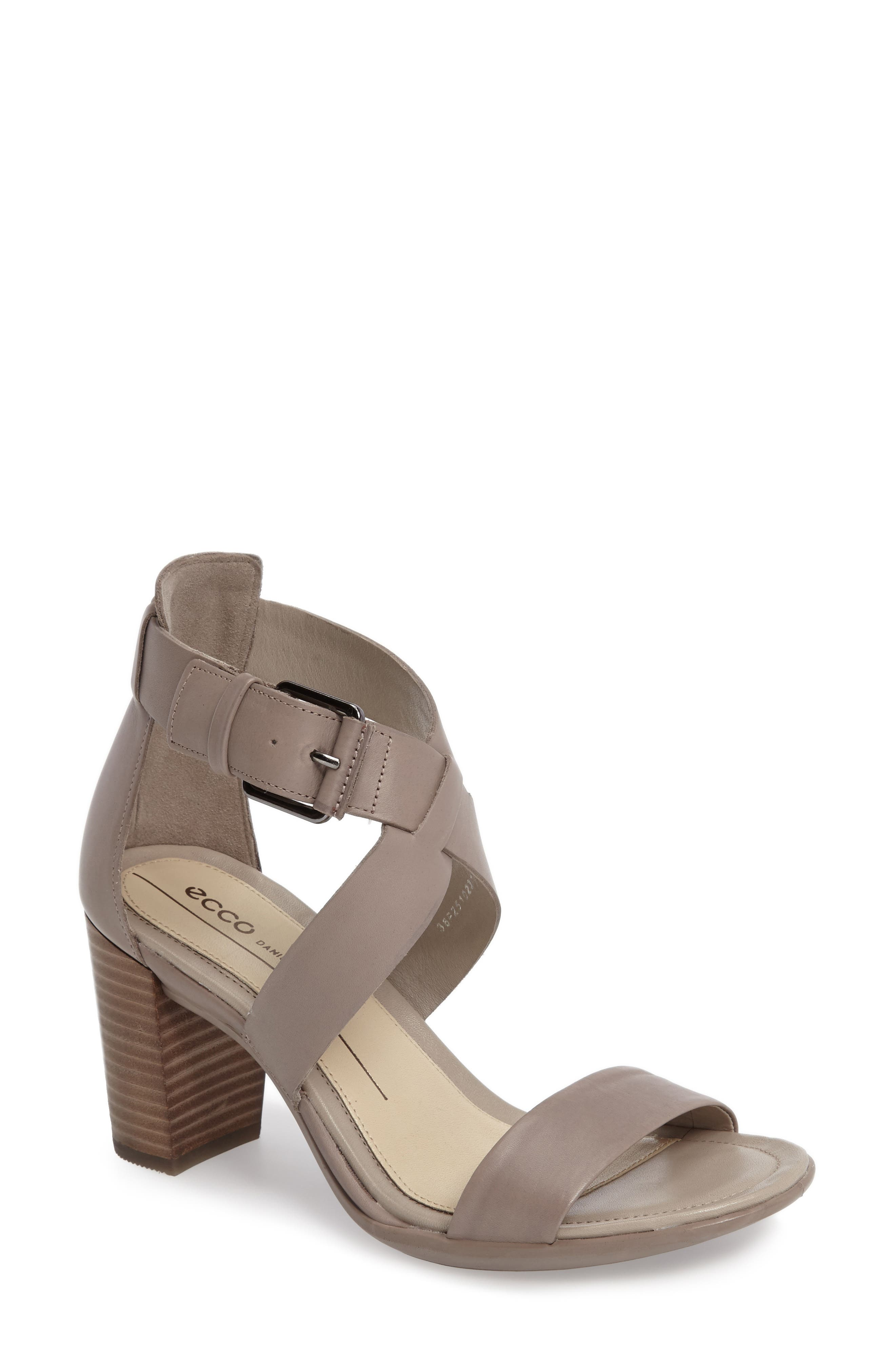Touch 65 Sandal,                         Main,                         color, Moon Rock Leather