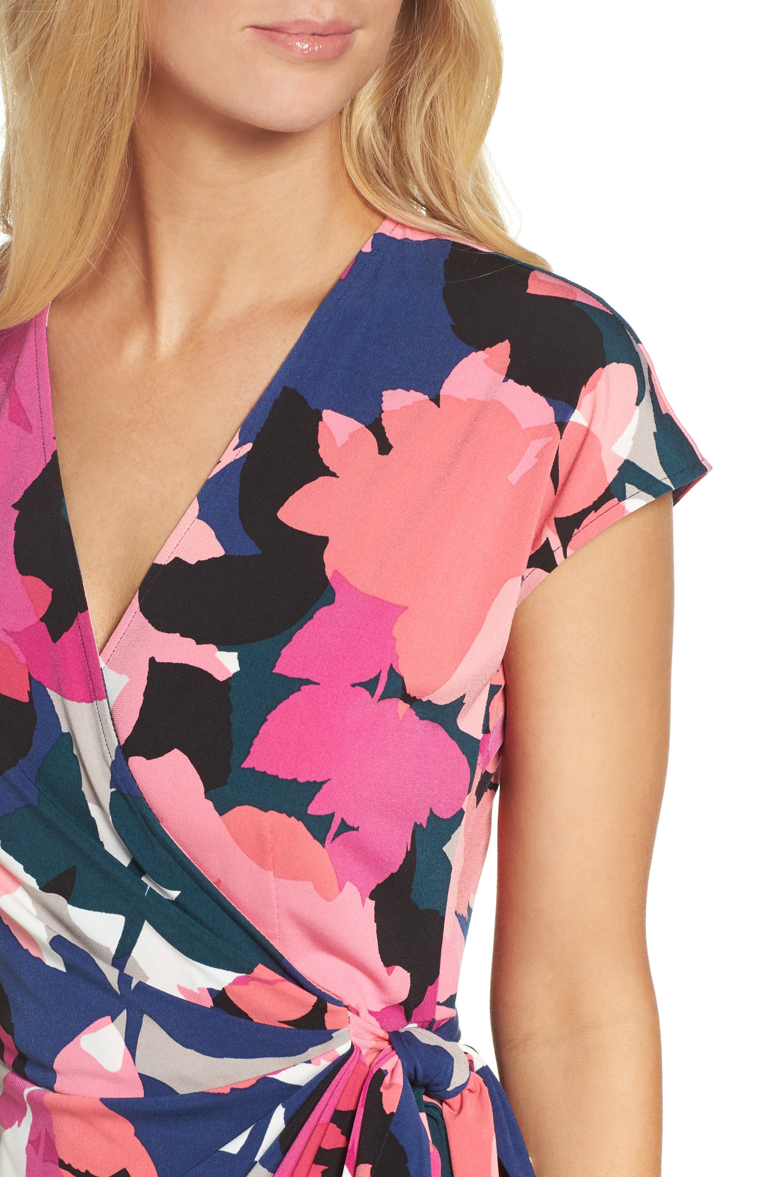 Alternate Image 4  - Maggy London Jersey Wrap Dress (Regular & Petite)