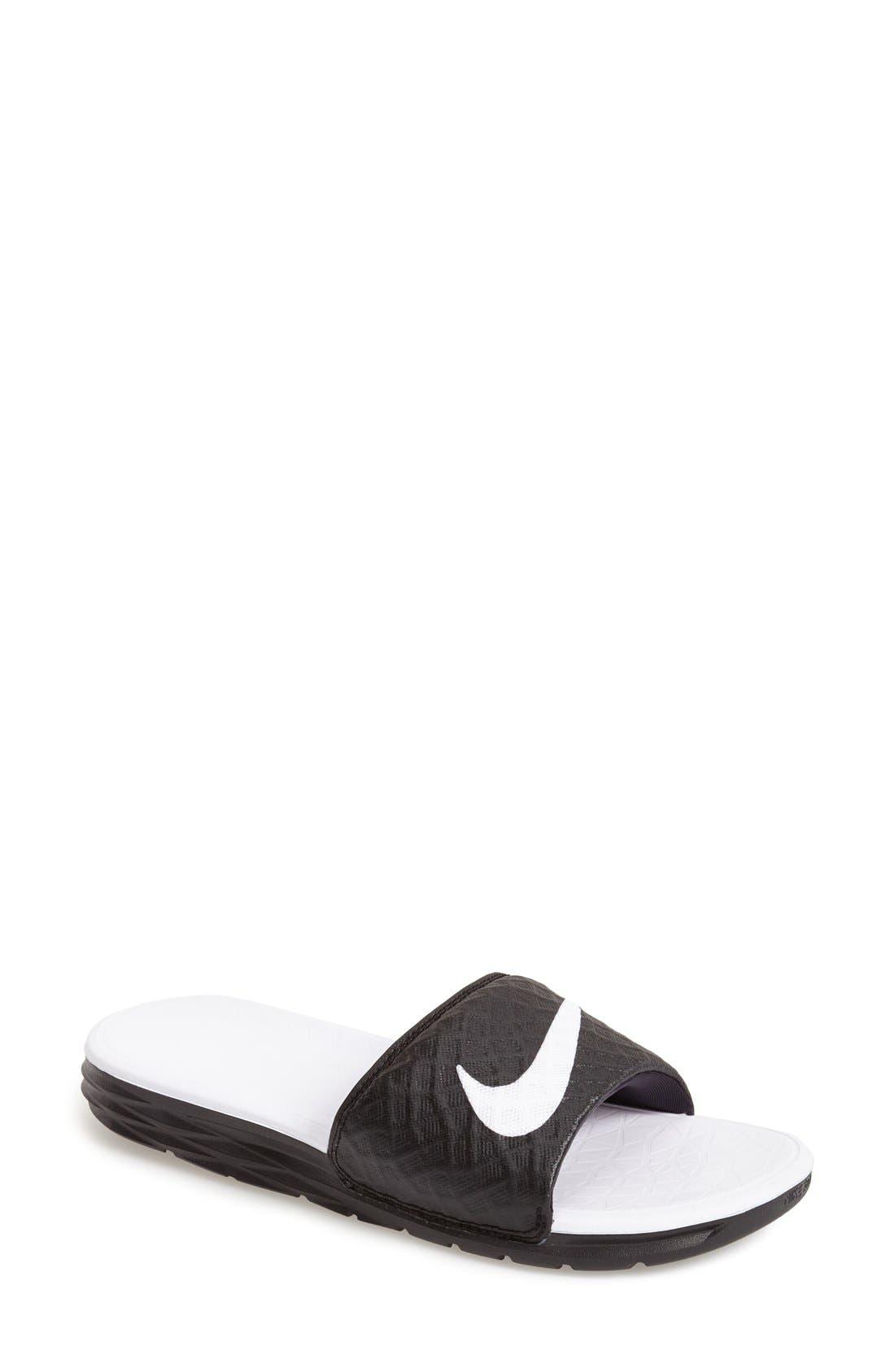 Nike 'Benassi Solarsoft 2' Slide Sandal (Women)