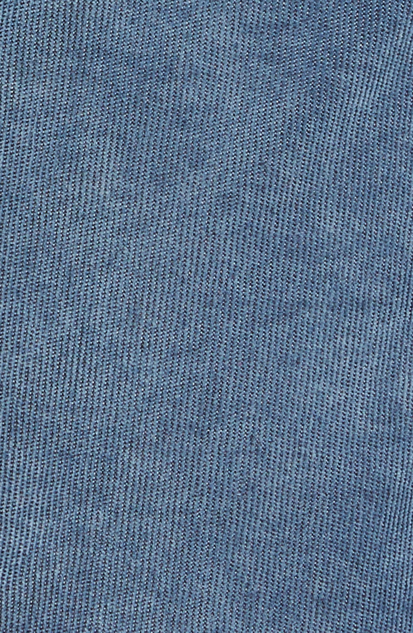 Alternate Image 5  - True Religion Brand Jeans Geno Straight Leg Corduroy Moto Pants