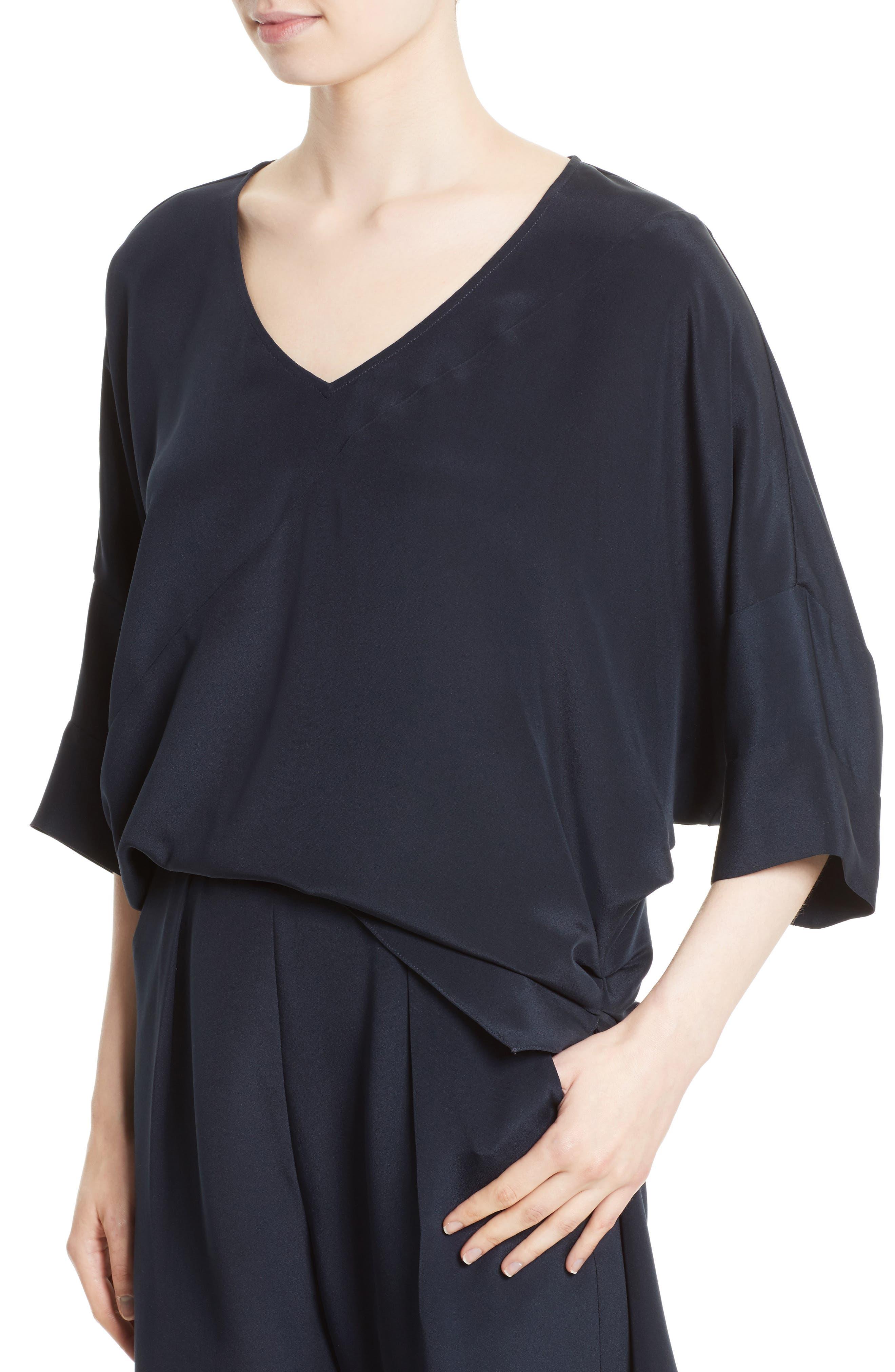 Alternate Image 4  - Rachel Comey Grateful Silk Crepe Jumpsuit
