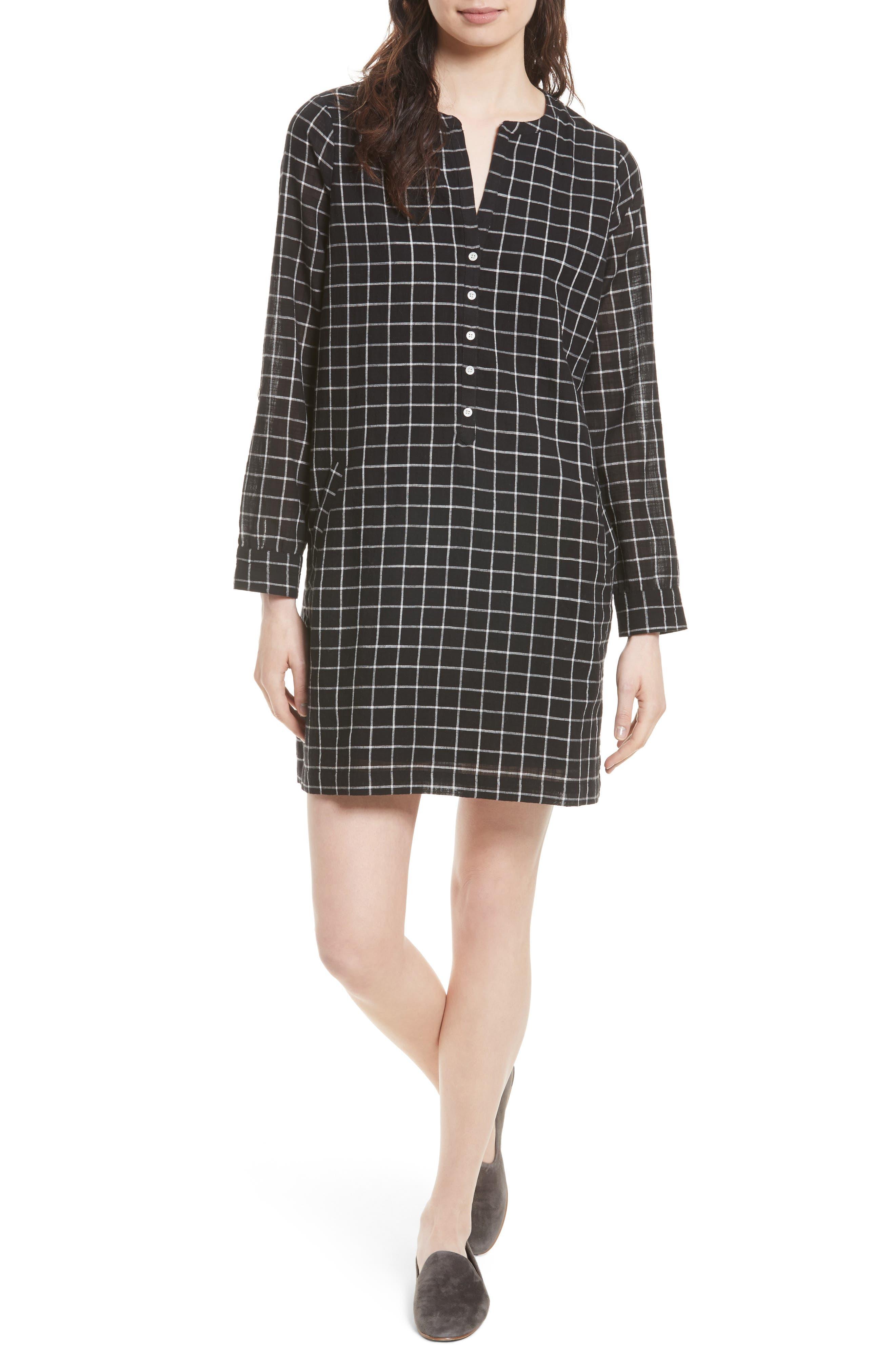 Soft Joie Eguine Cotton Shirtdress