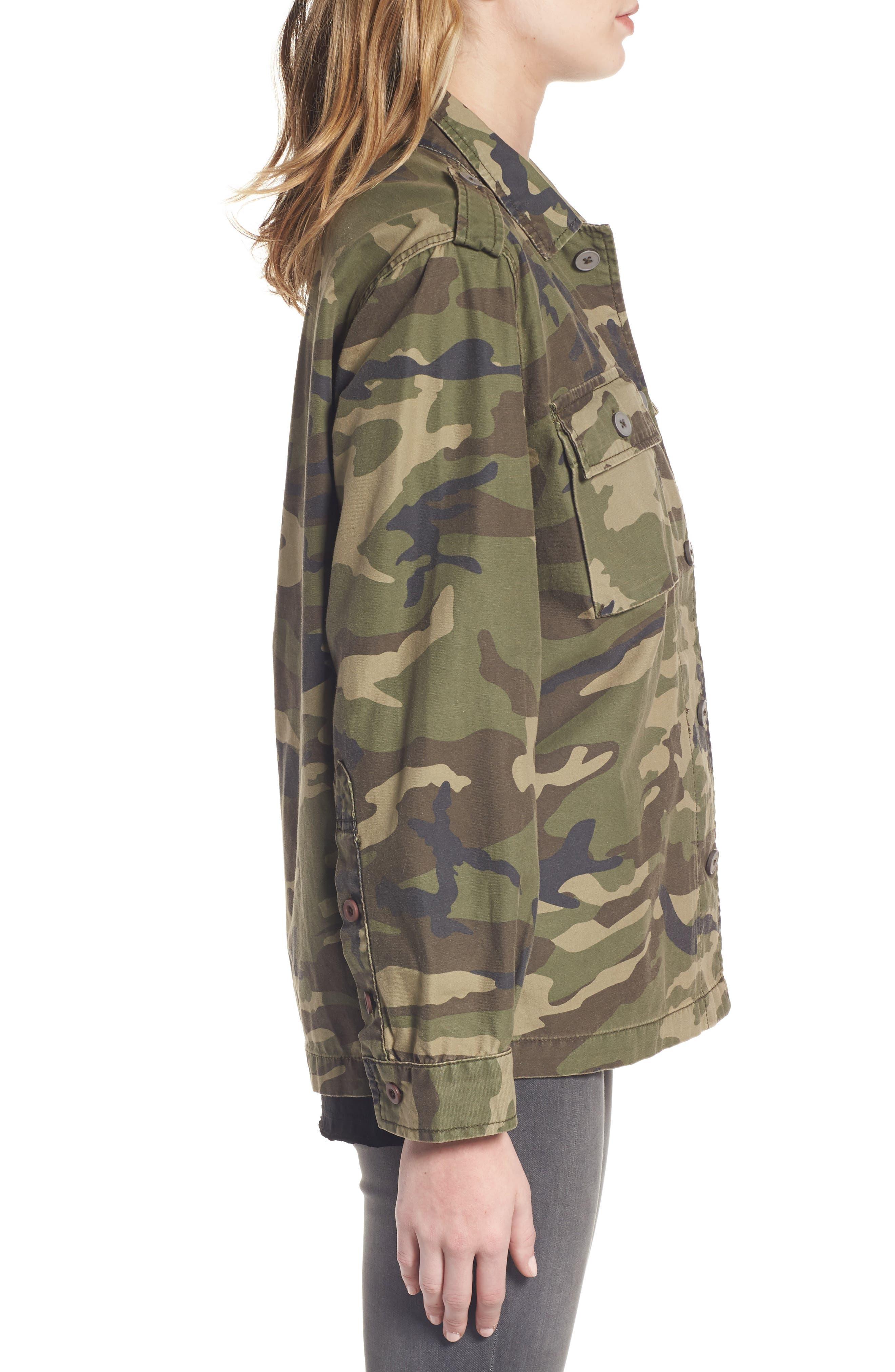 Alternate Image 3  - Thread & Supply Barton Camo Print Jacket