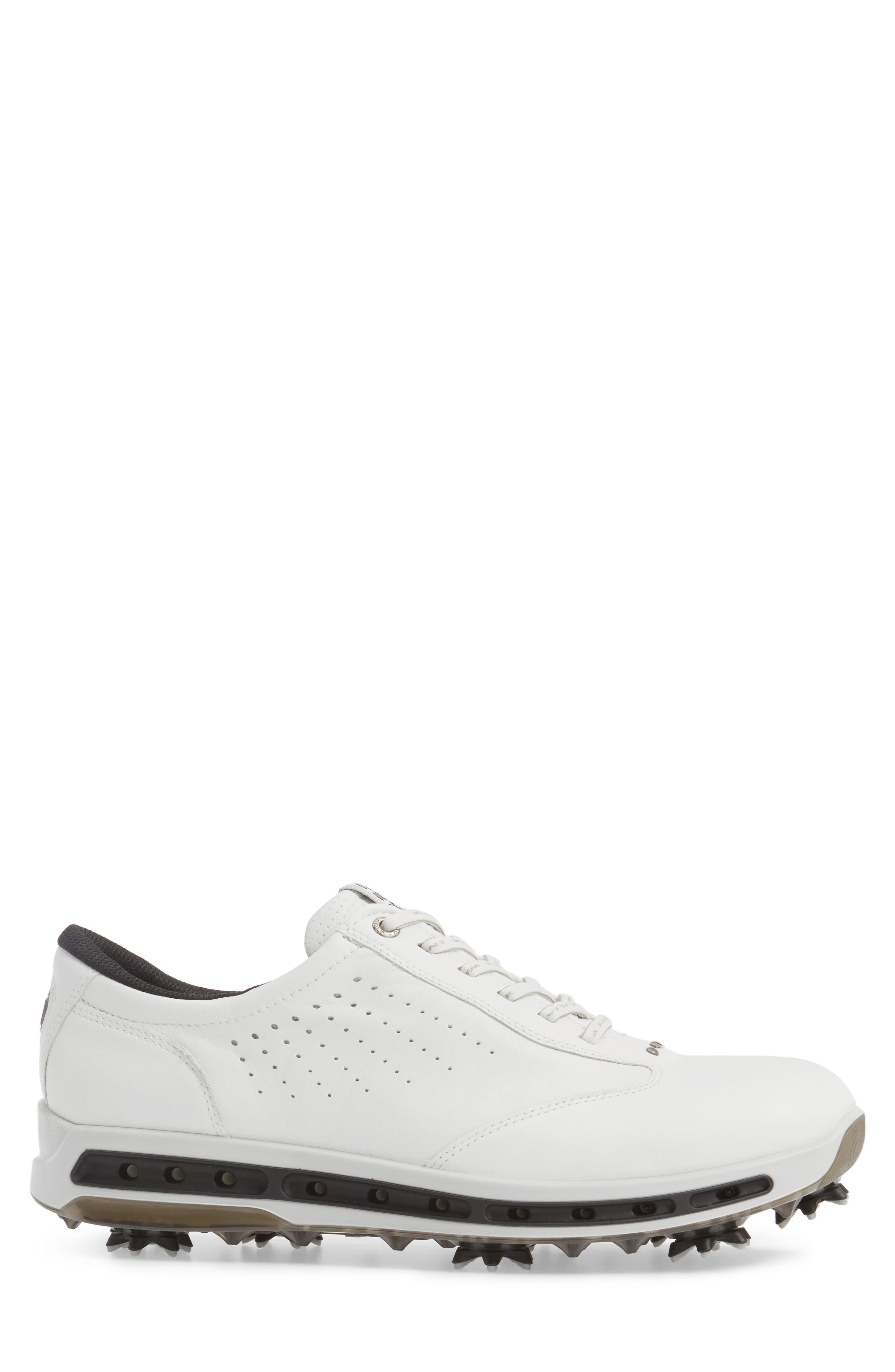Cool GTX Golf Shoe,                             Alternate thumbnail 3, color,                             White/ Black