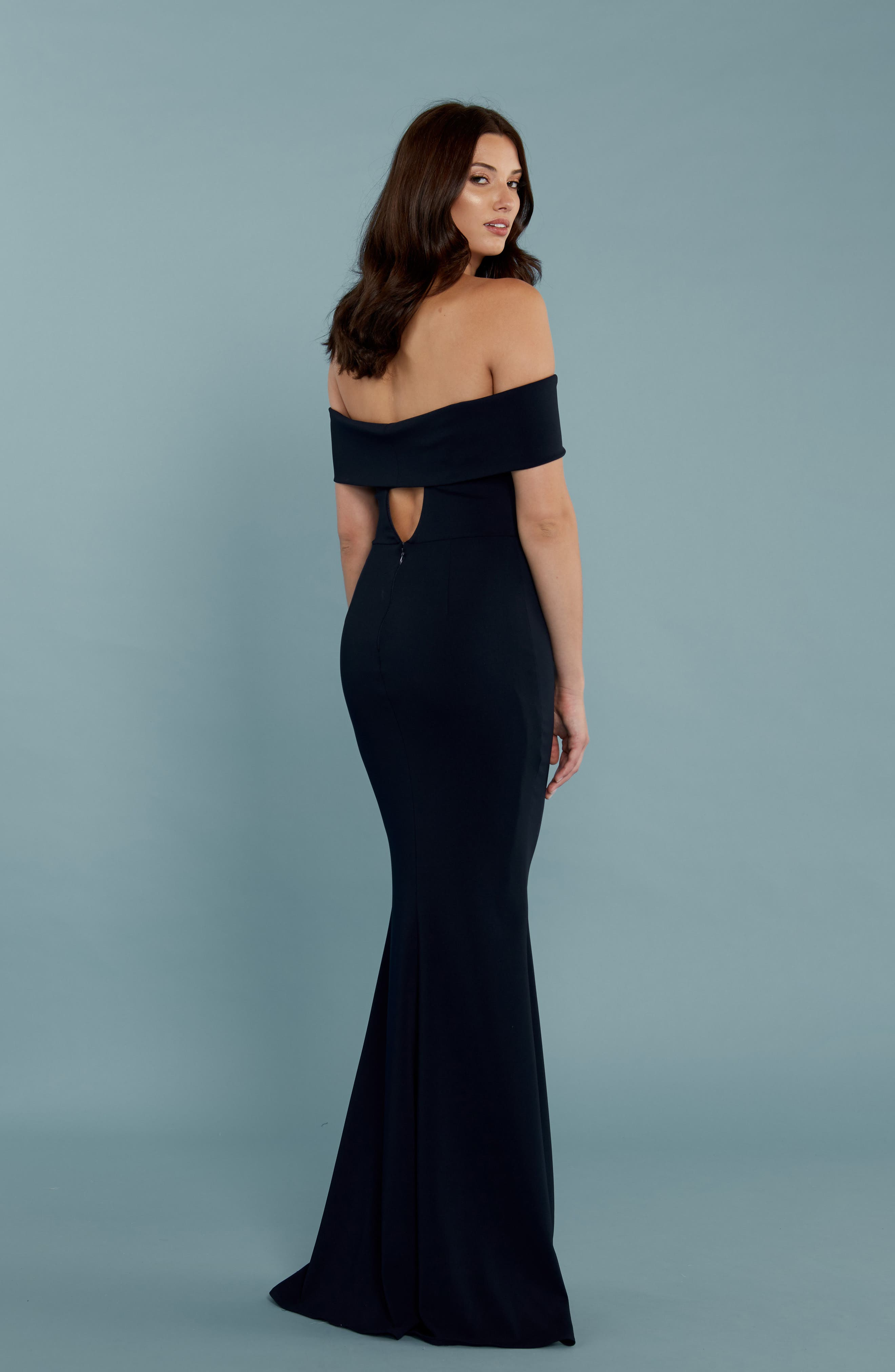 Alternate Image 2  - Katie May Legacy Crepe Body-Con Gown