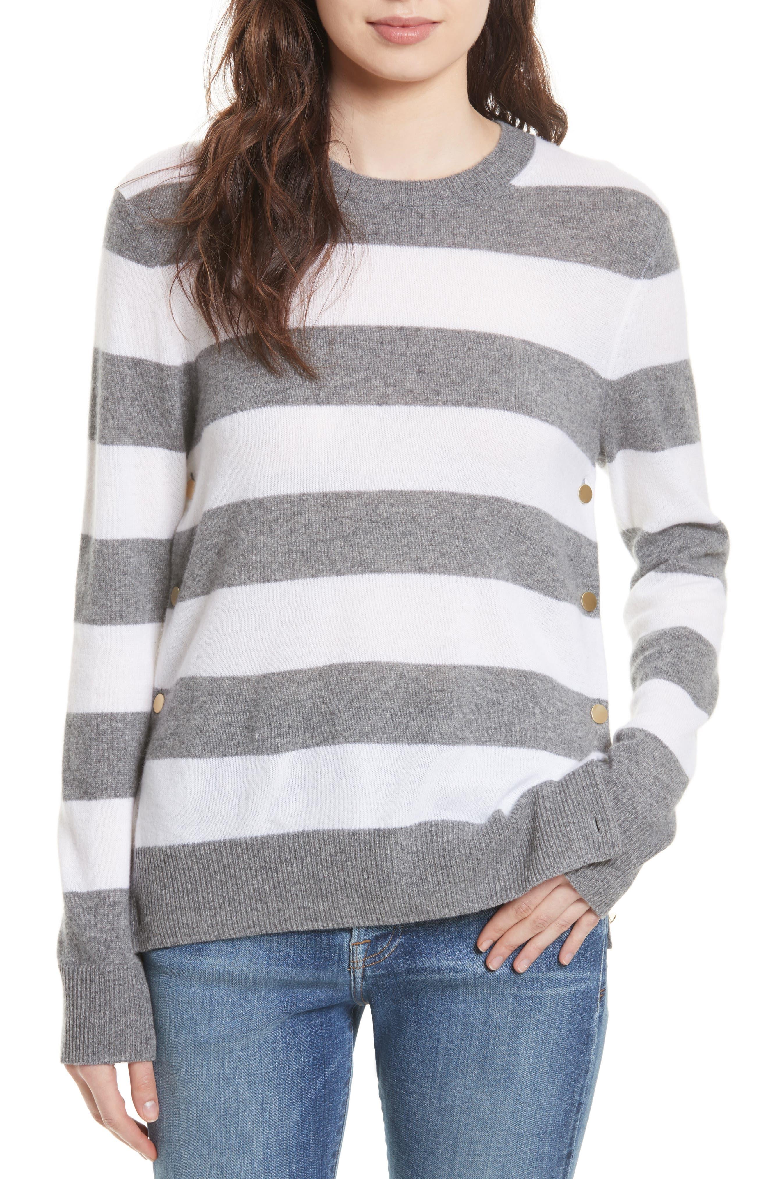 EQUIPMENT Jenny Stripe Cashmere Pullover