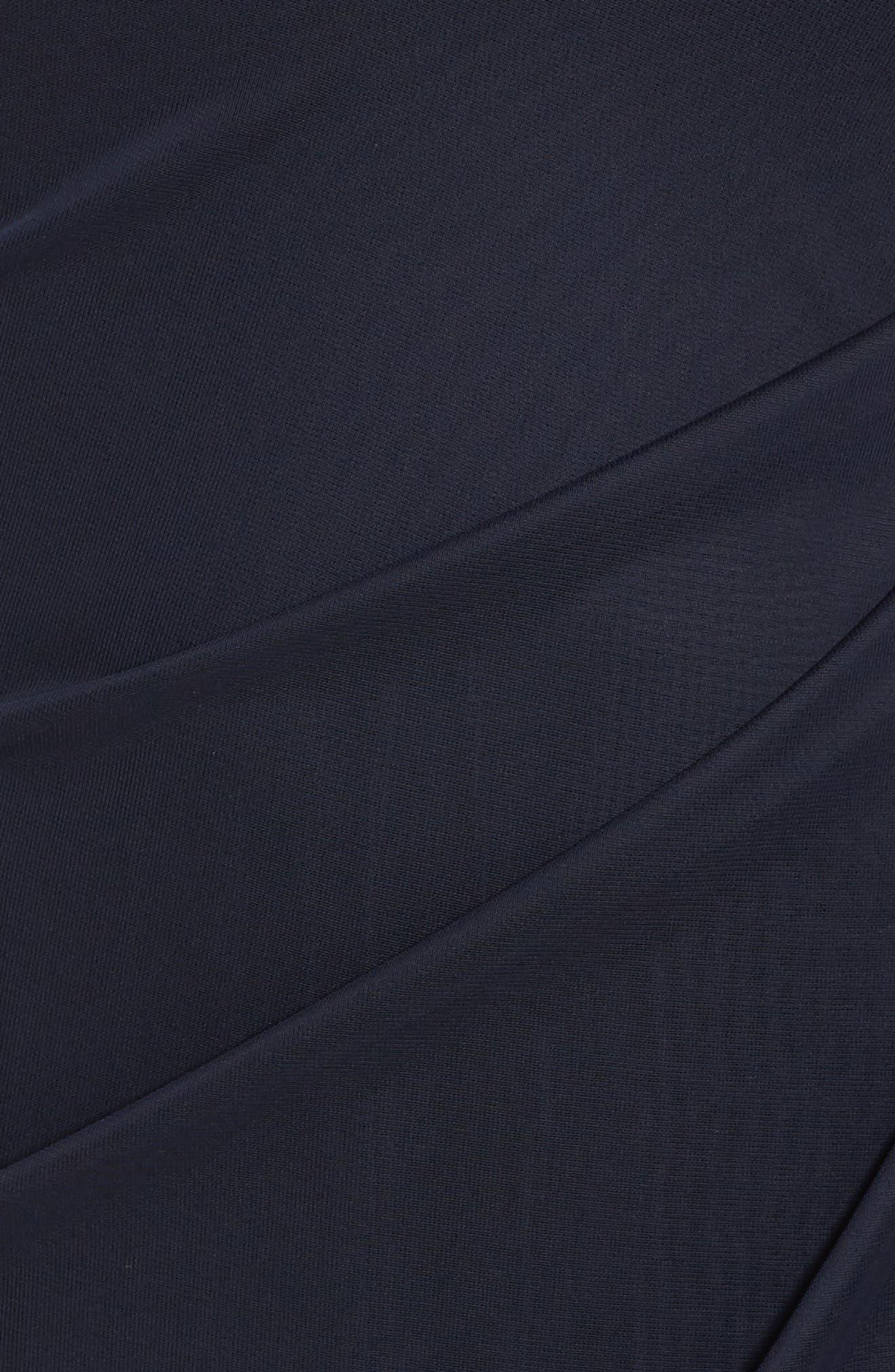 Alternate Image 5  - Xscape Embellished Side Pleat Gown (Plus Size)