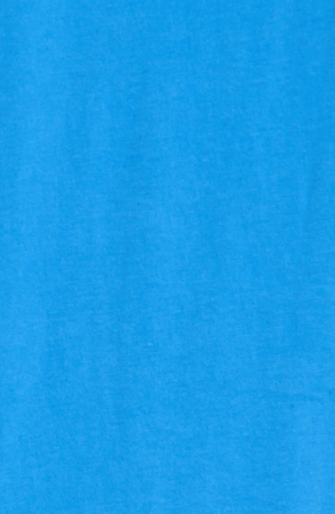 Slim Crewneck T-Shirt,                             Alternate thumbnail 5, color,                             Sail Blue