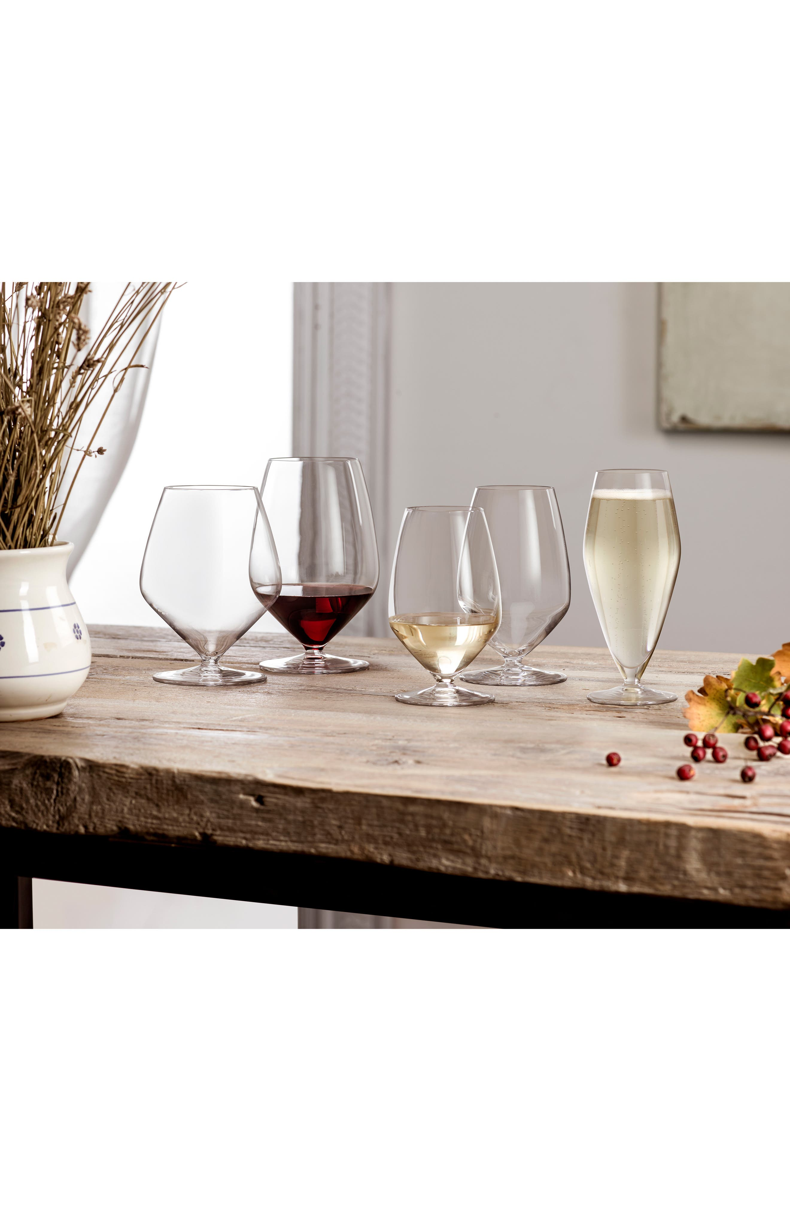 T-Glass Set of 4 Pinot Noir Glasses,                             Alternate thumbnail 2, color,                             Clear
