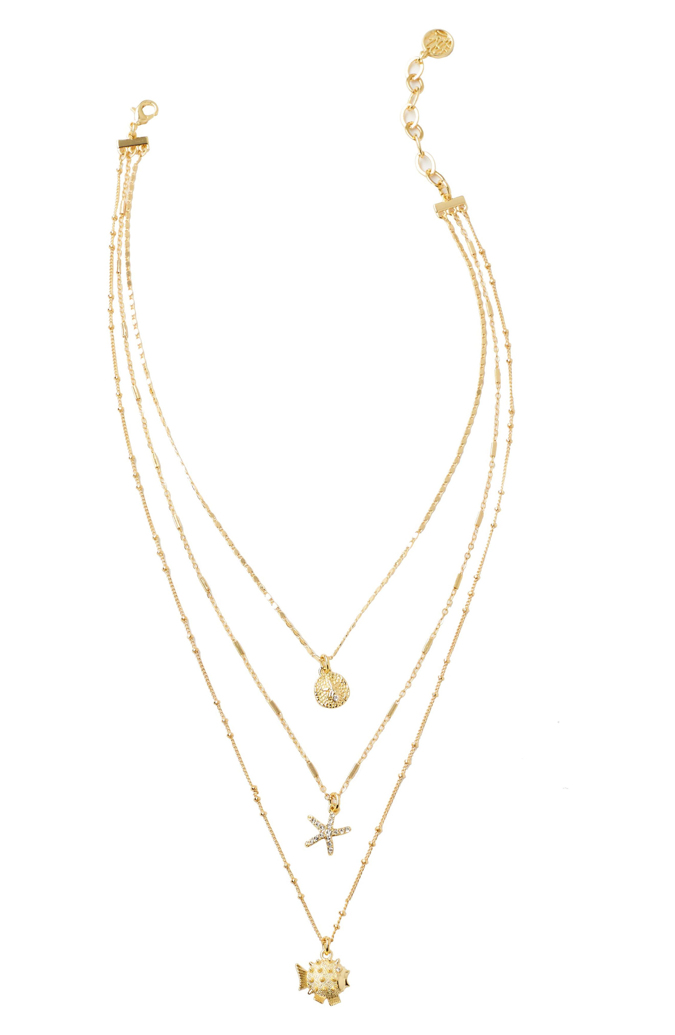 Lilly Pulitzer® Seaside Multistrand Necklace