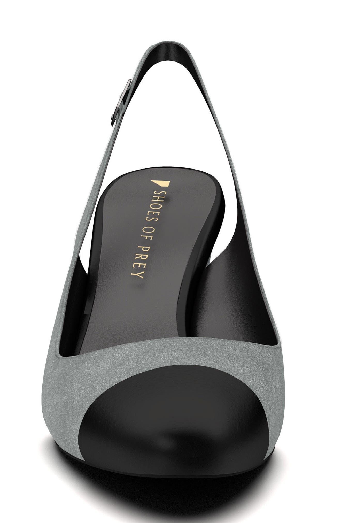Alternate Image 4  - Shoes of Prey Slingback Pump (Women)