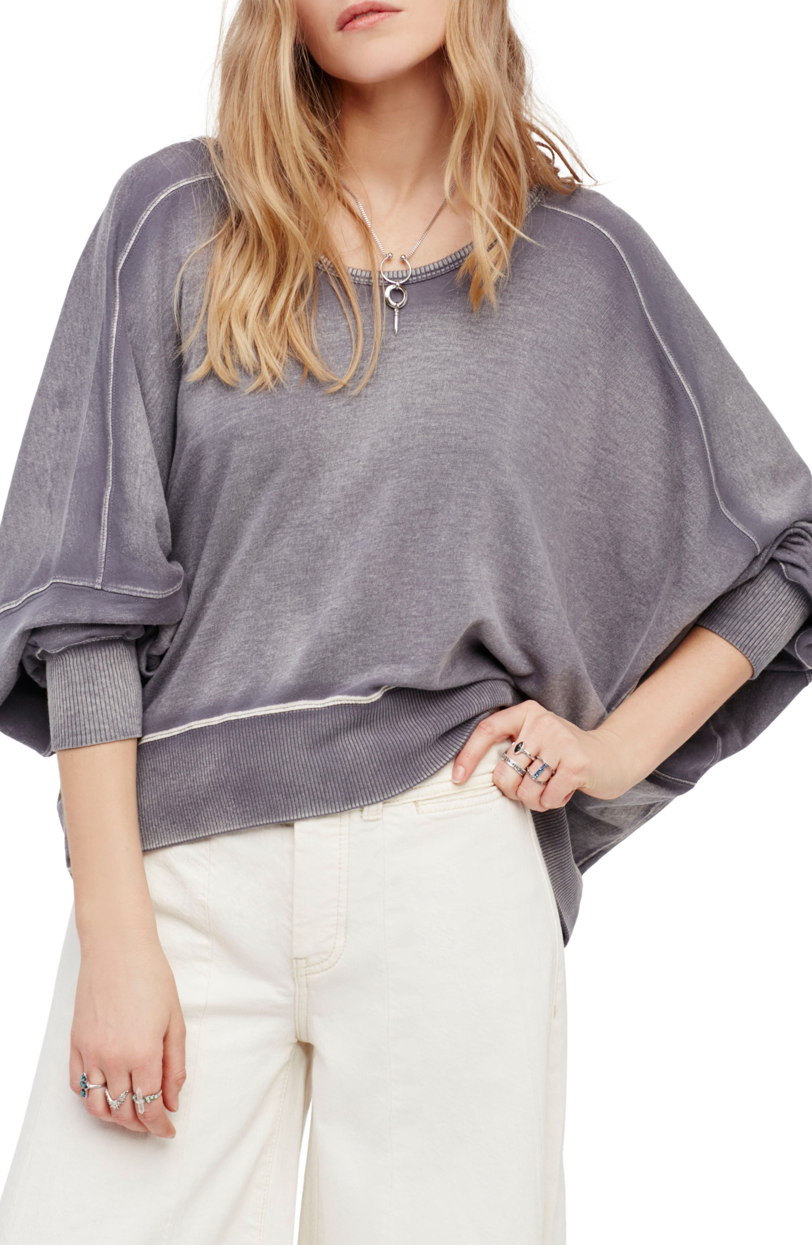 Main Image - Free People Back It Up Pullover