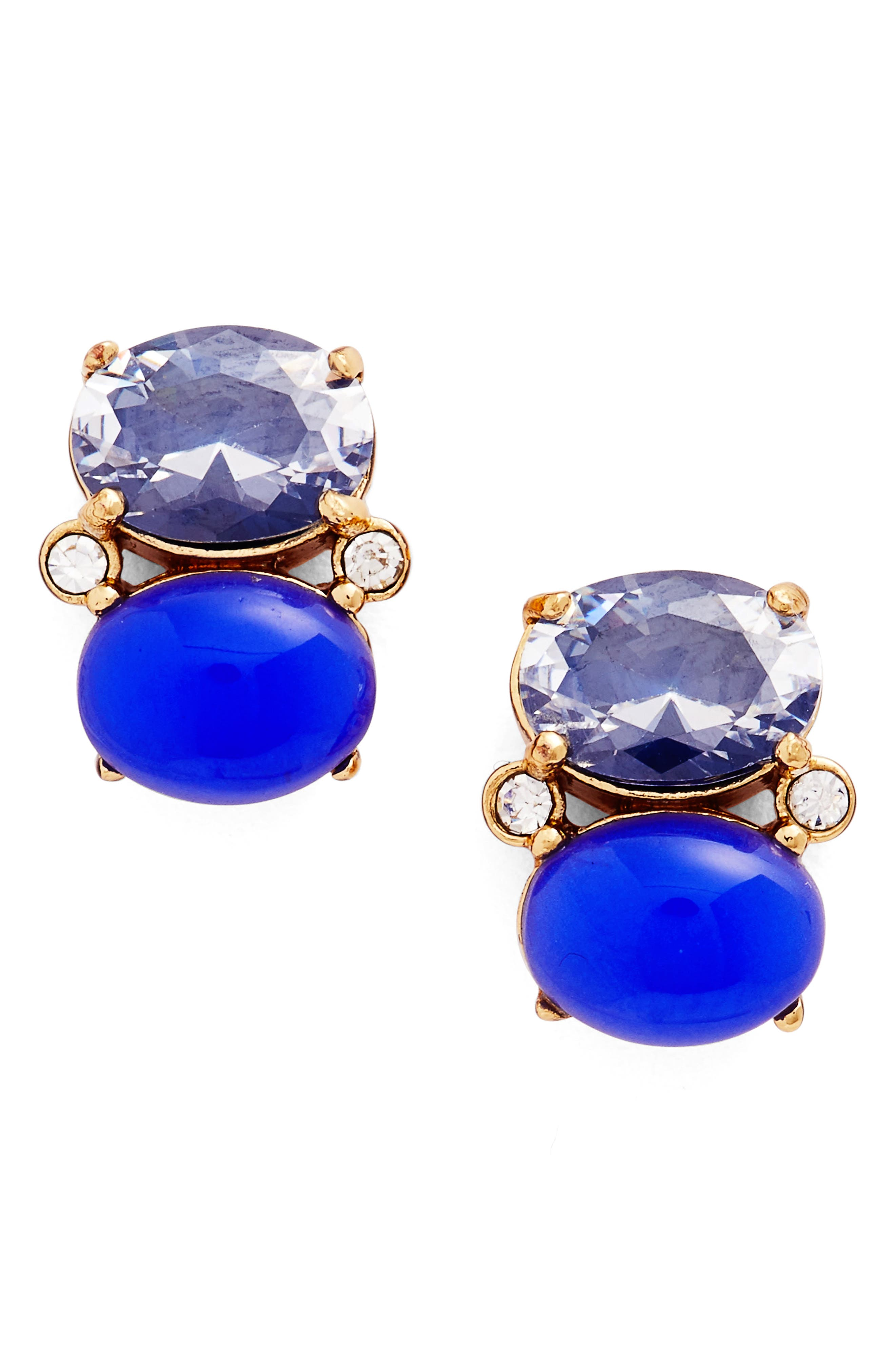 Alternate Image 1 Selected - kate spade new york shine on crystal stud earrings
