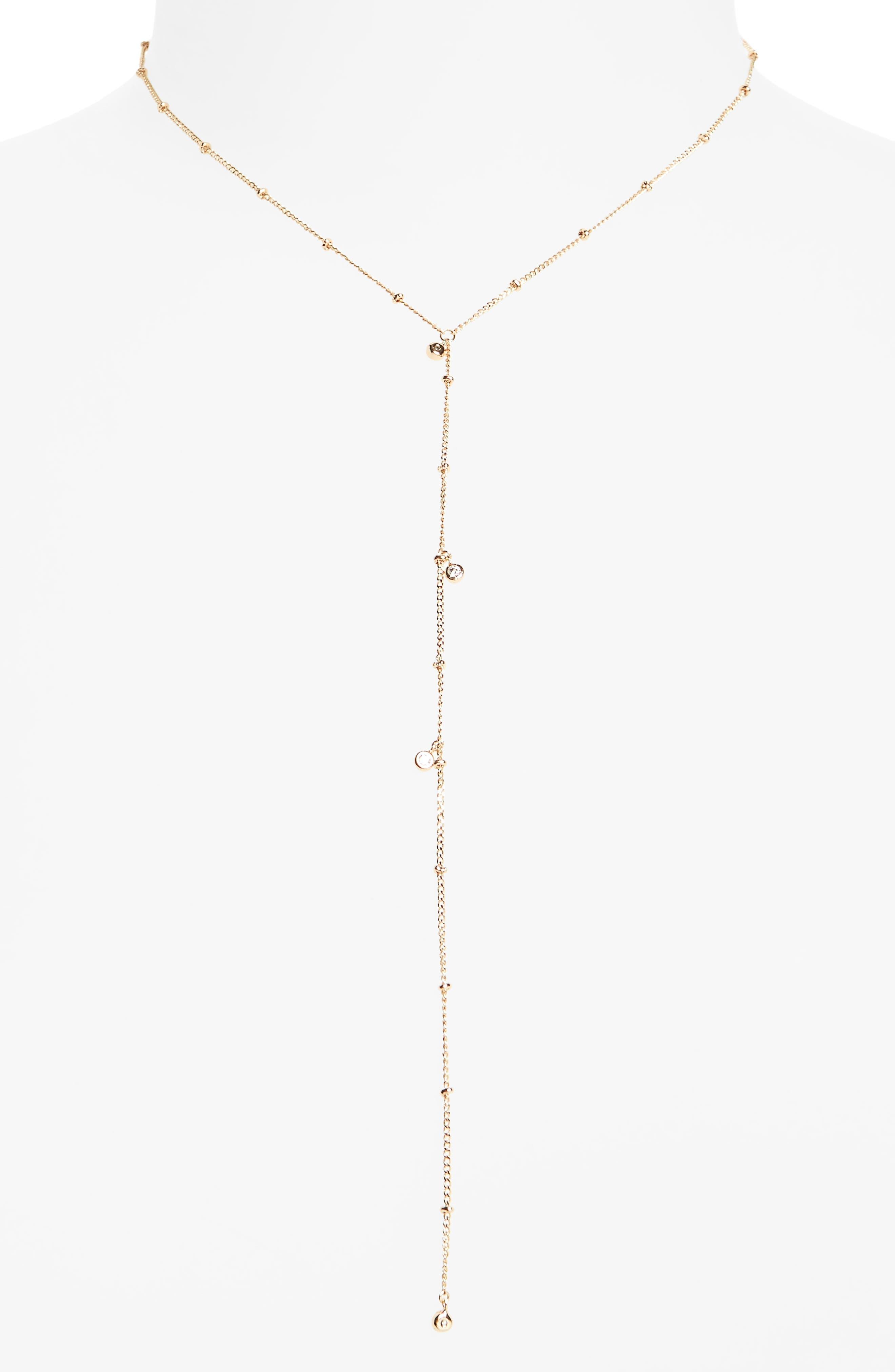 Melanie Auld Lariat Necklace