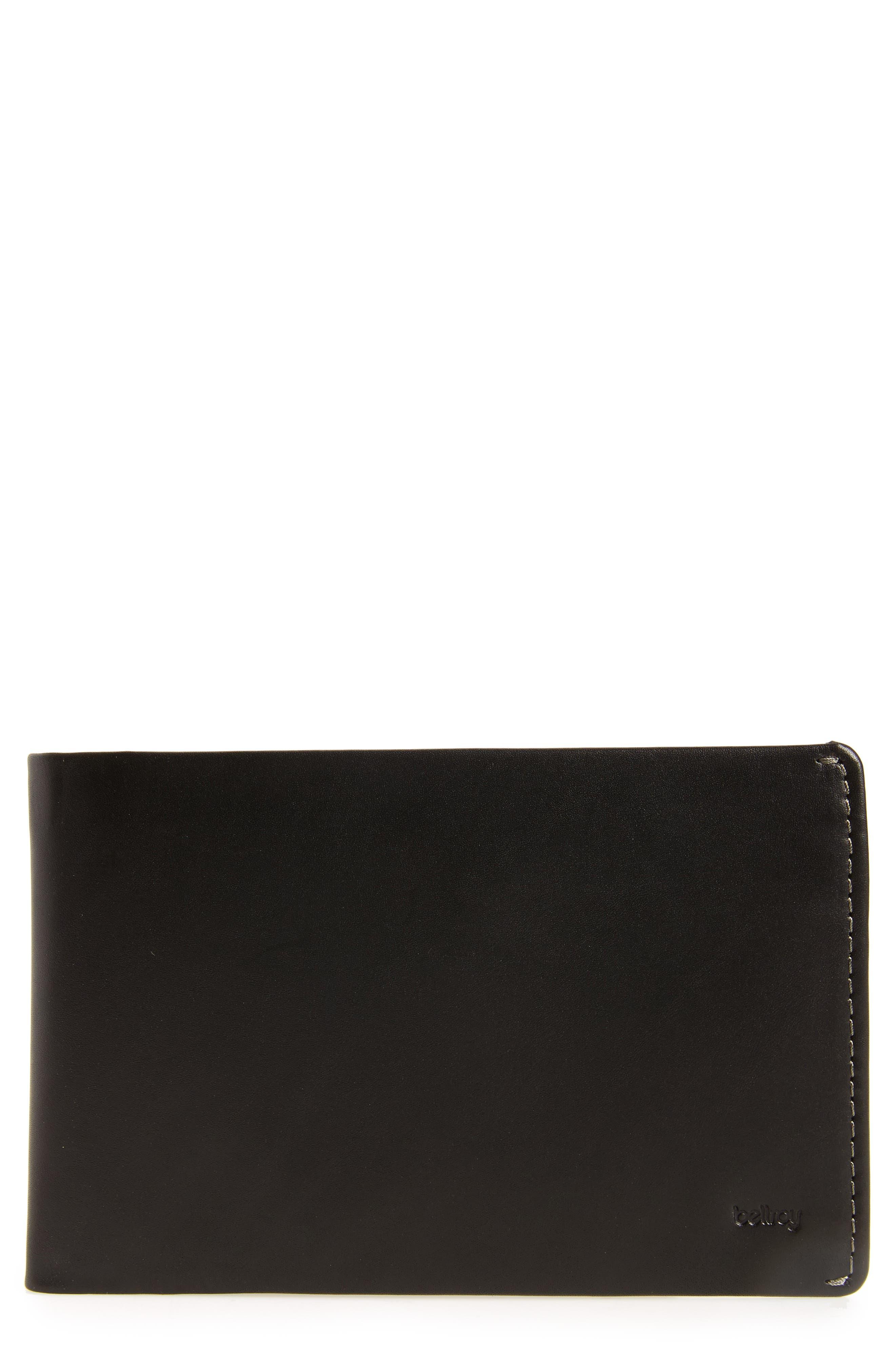 RFID Travel Wallet,                             Main thumbnail 1, color,                             Black