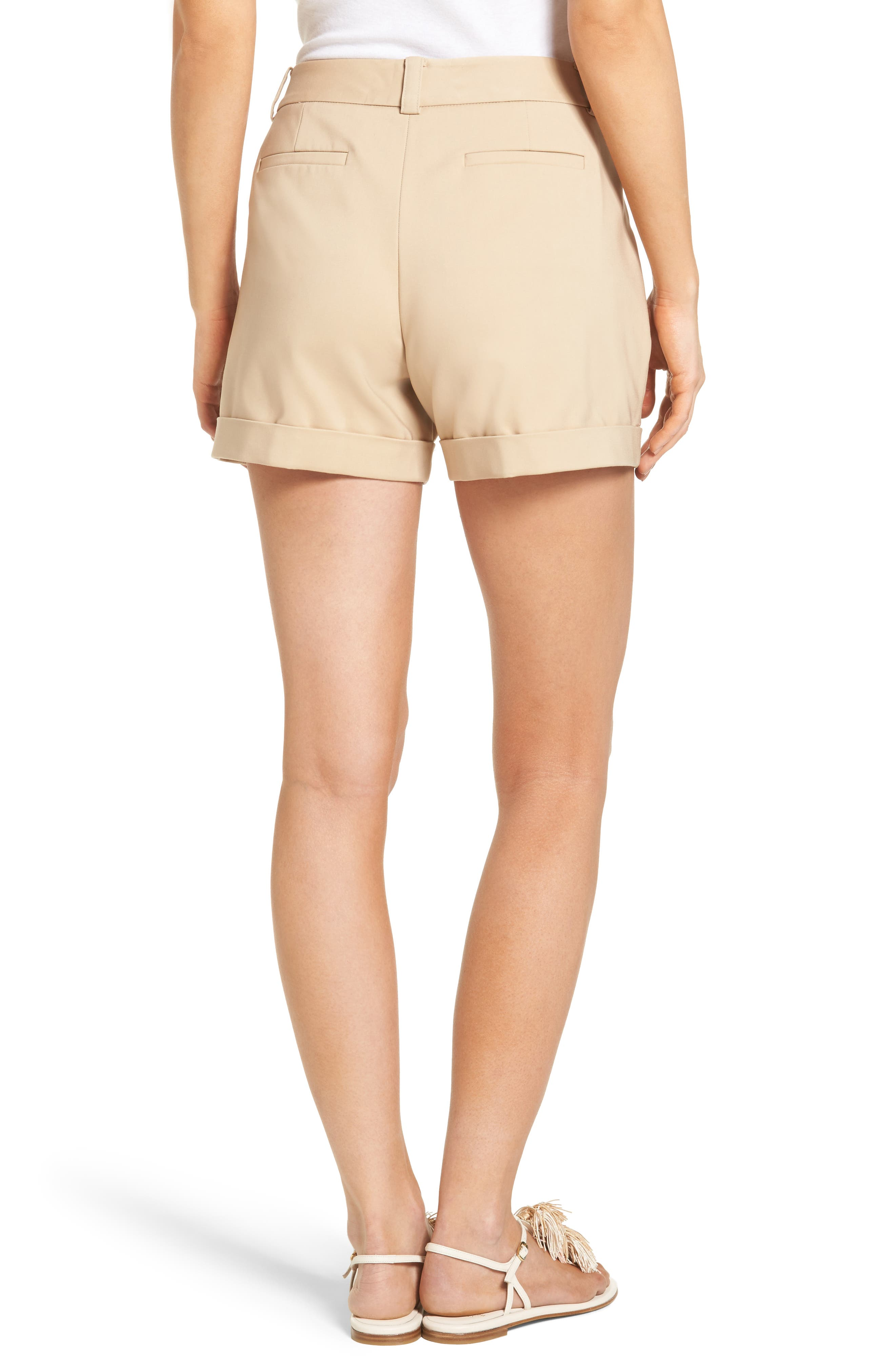 Alternate Image 2  - Vince Camuto Cuffed Shorts