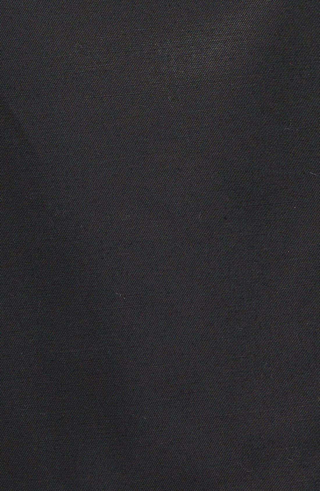 Alternate Image 2  - Via Spiga 'Scarpa' Single Breasted Trench Coat (Plus Size)