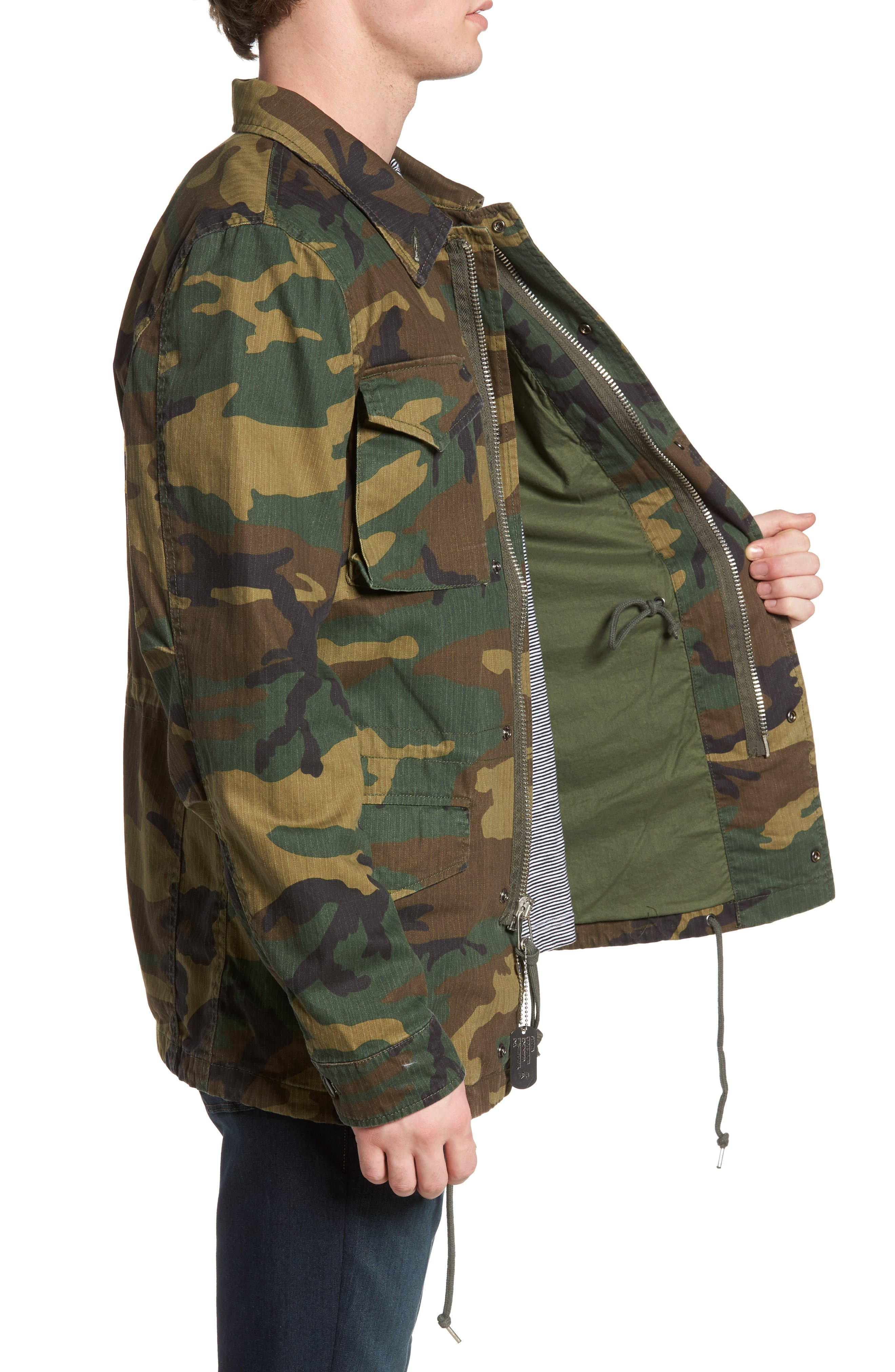 Alternate Image 3  - Alpha Industries Dragon Tour Camo Field Jacket