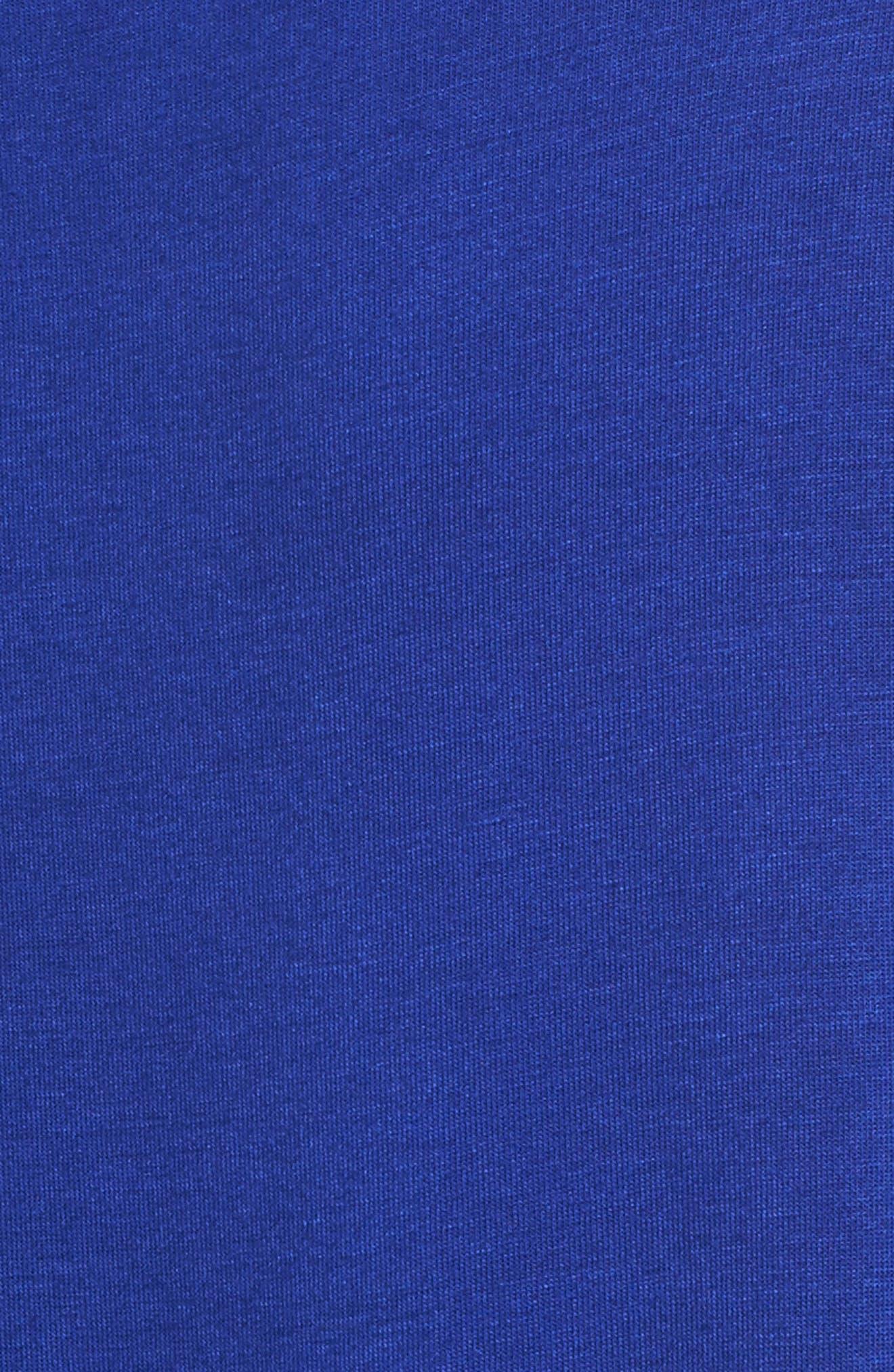Cold Shoulder Top,                             Alternate thumbnail 5, color,                             Sapphire