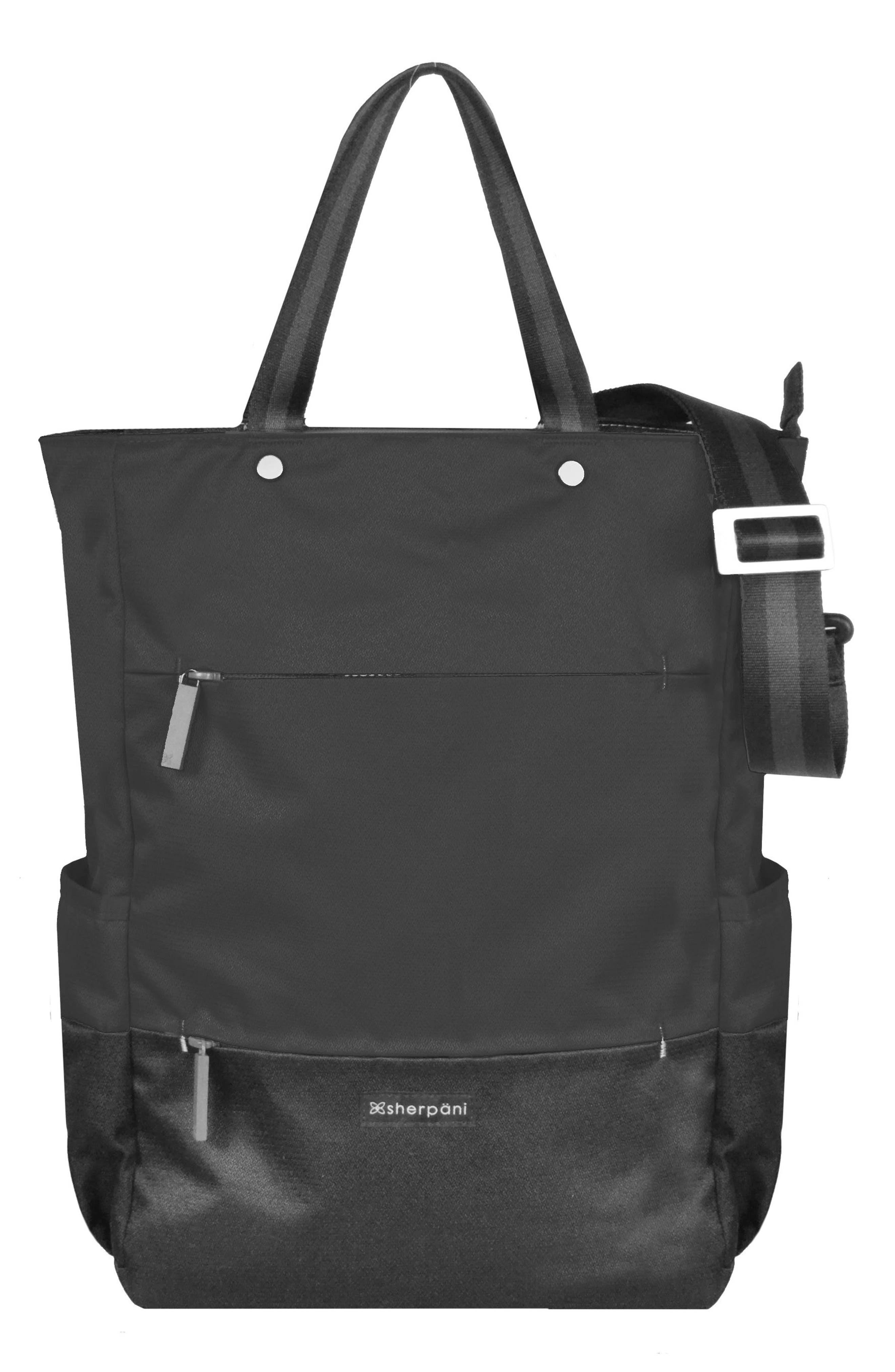 Camden Convertible Backpack,                         Main,                         color, Raven