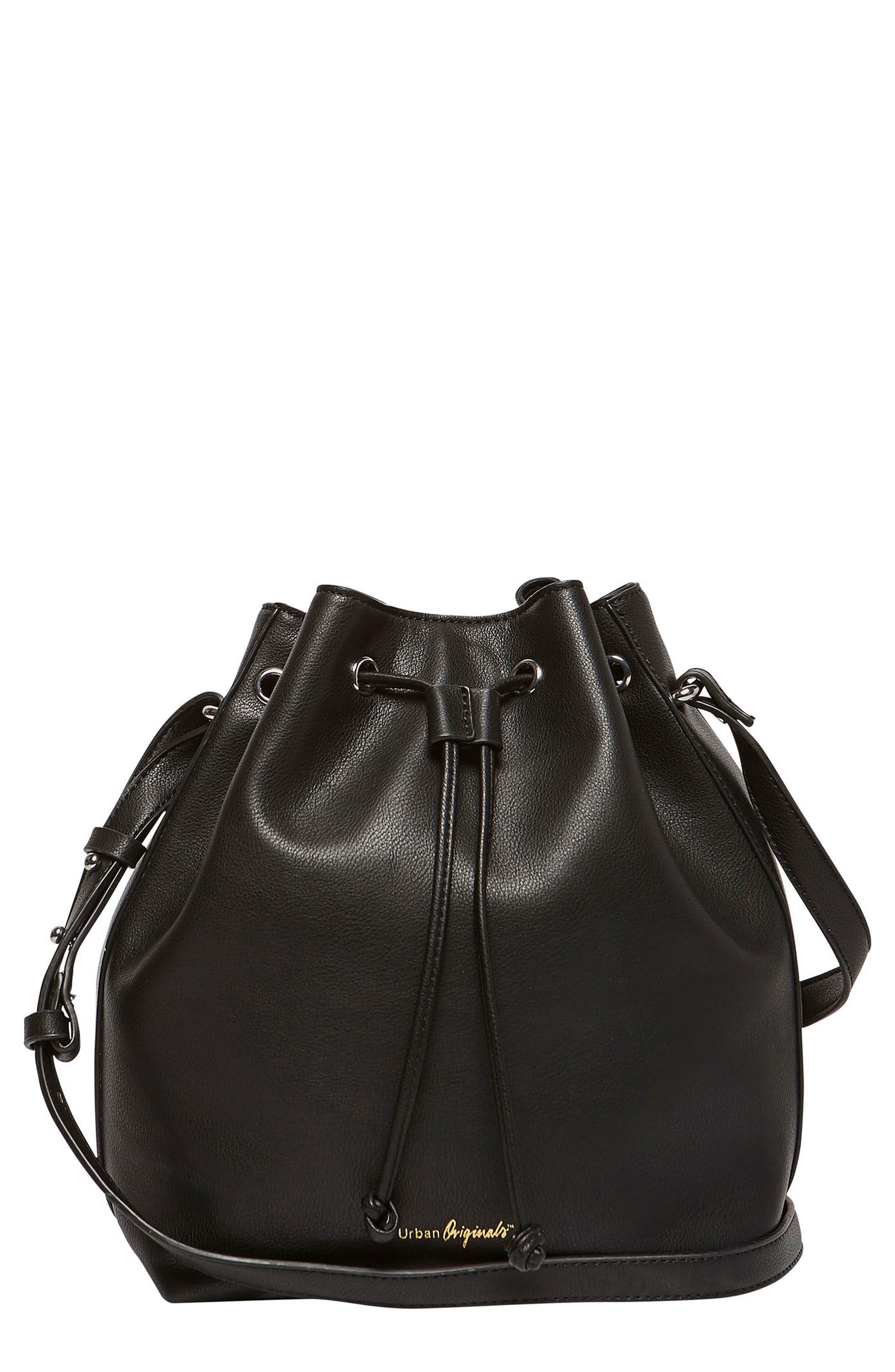 Main Image - Urban Originals Take Me Home Vegan Leather Bag