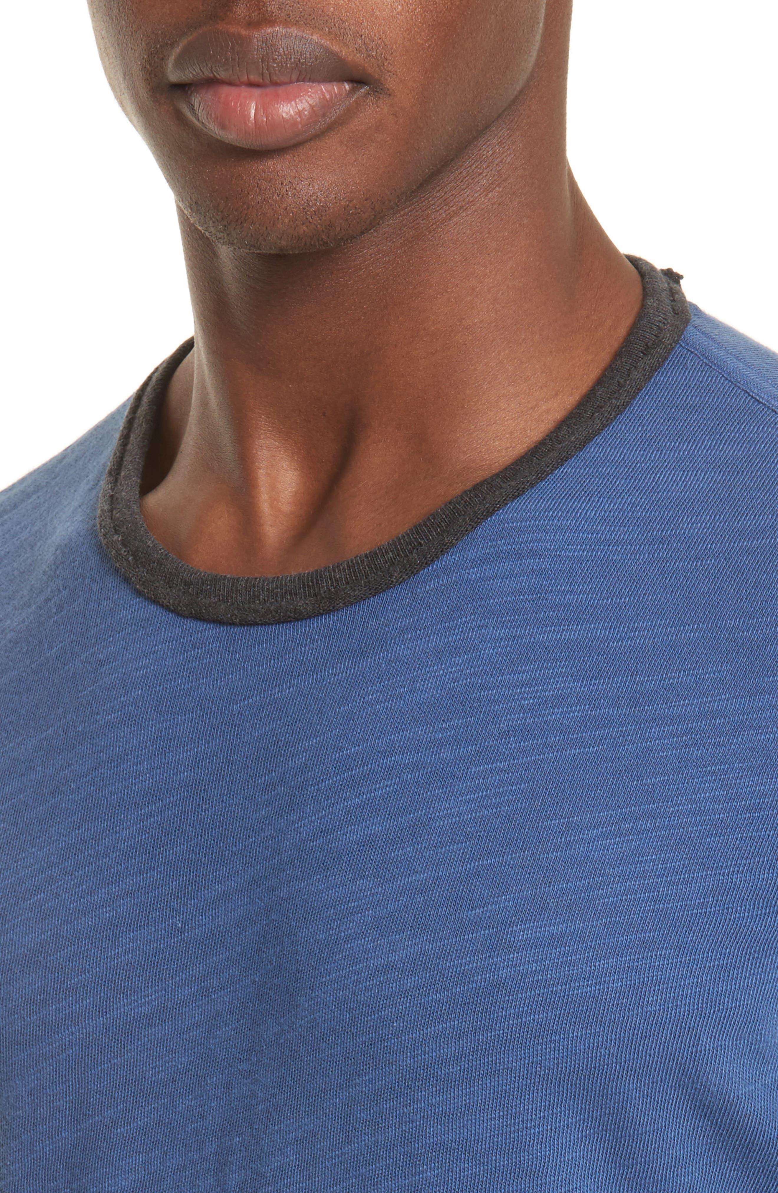 Alternate Image 4  - rag & bone Slub Cotton Jersey T-Shirt
