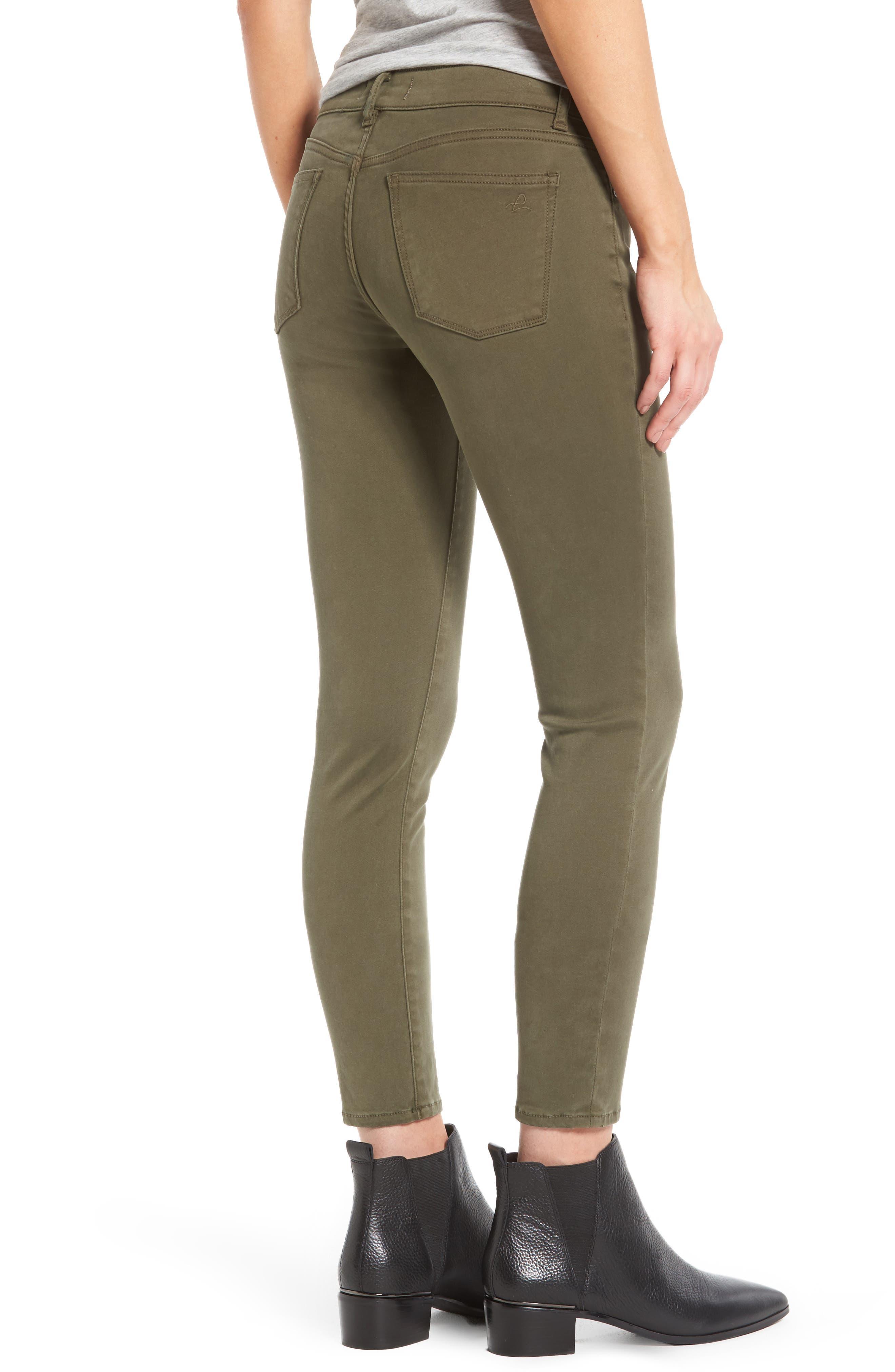 Alternate Image 2  - DL1961 Margaux Instasculpt Ankle Skinny Jeans (Clover)