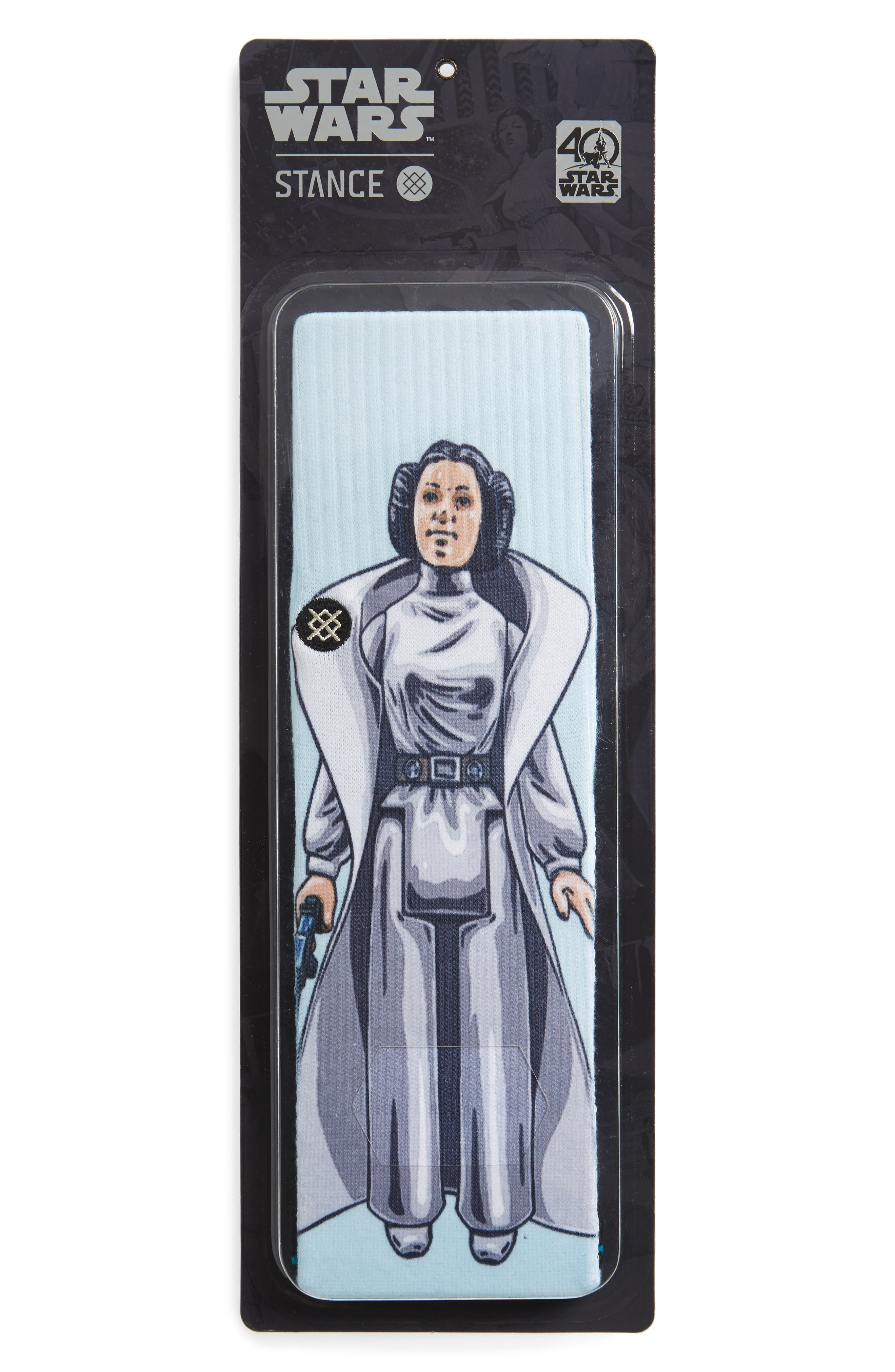 Star Wars<sup>™</sup> Family Force Socks,                             Alternate thumbnail 2, color,                             Aqua