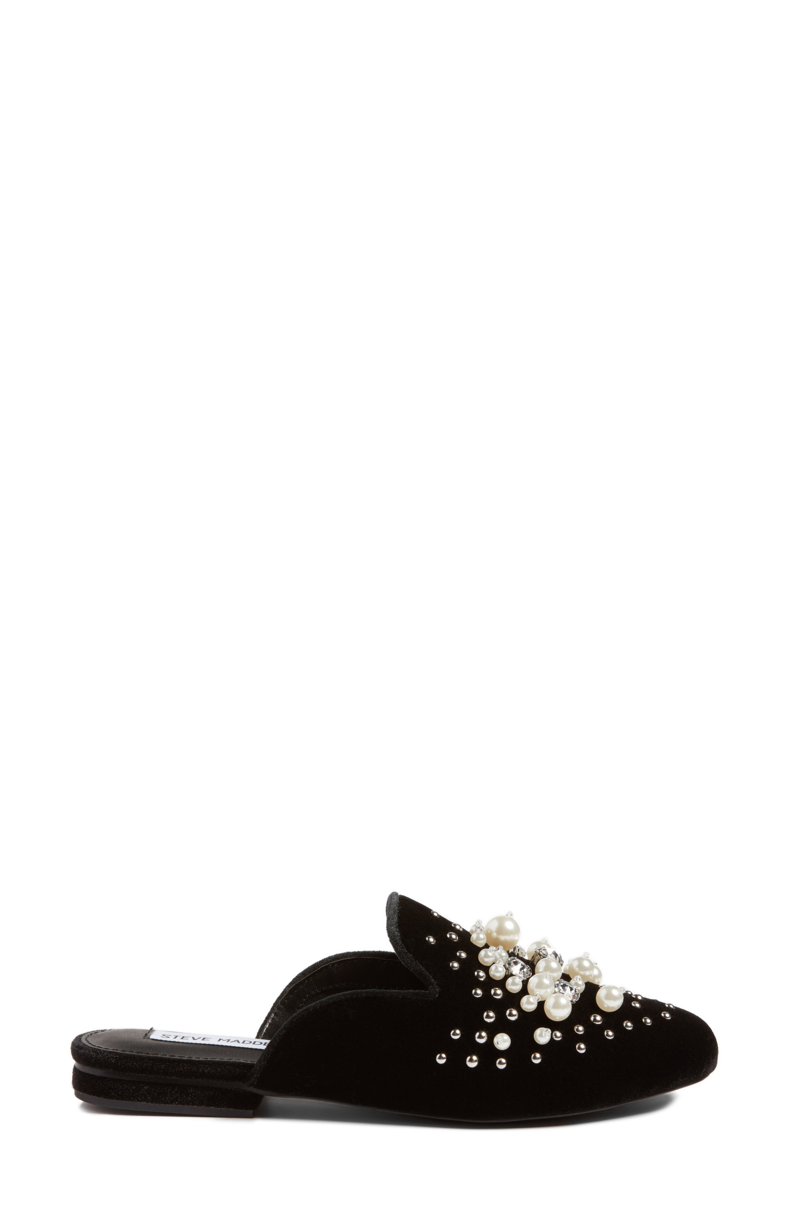 Alternate Image 3  - Steve Madden Imitation Pearl Embellished Mule (Women)