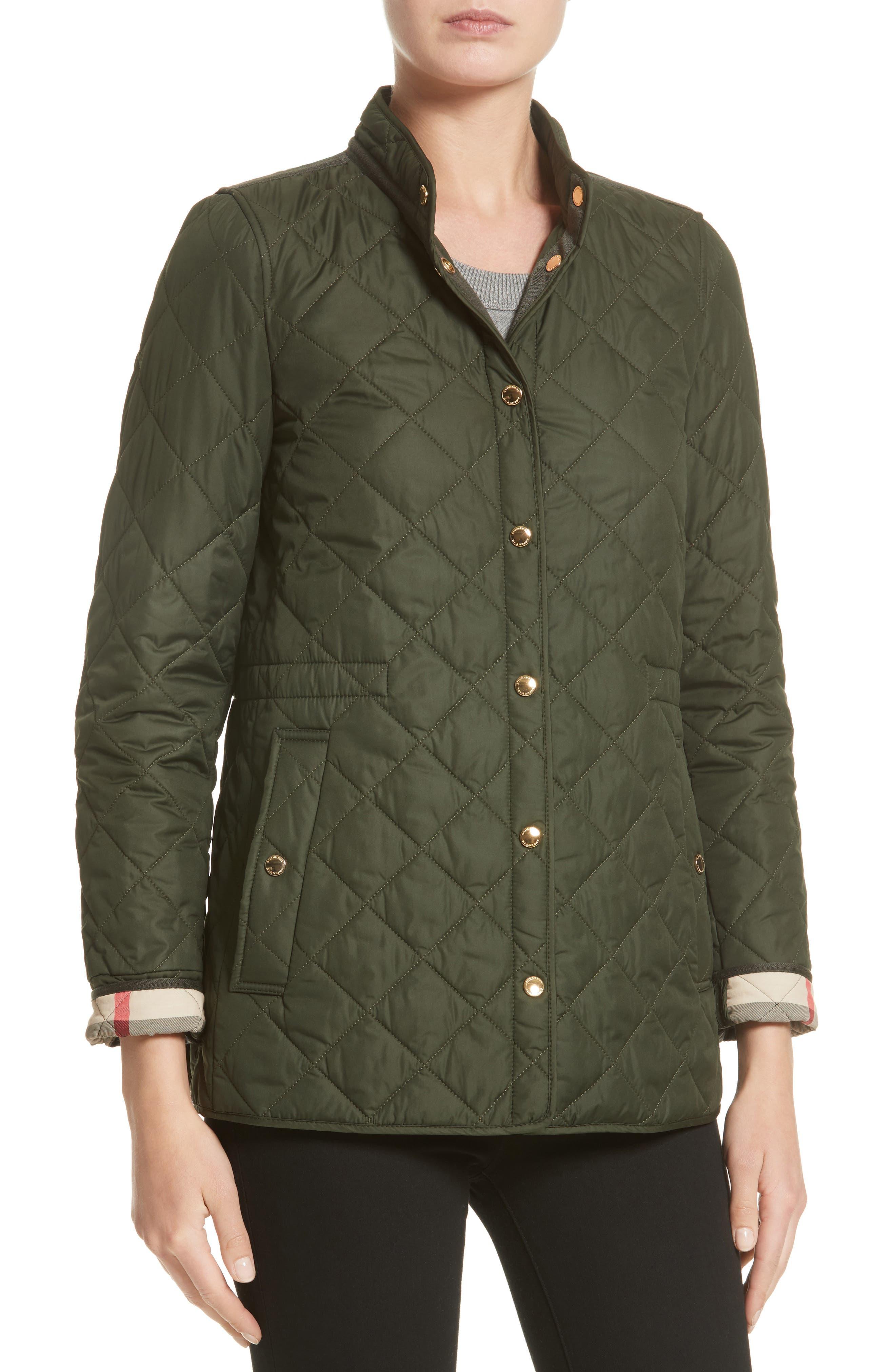 Alternate Image 6  - Burberry Pensham Quilted Jacket (Nordstrom Exclusive)