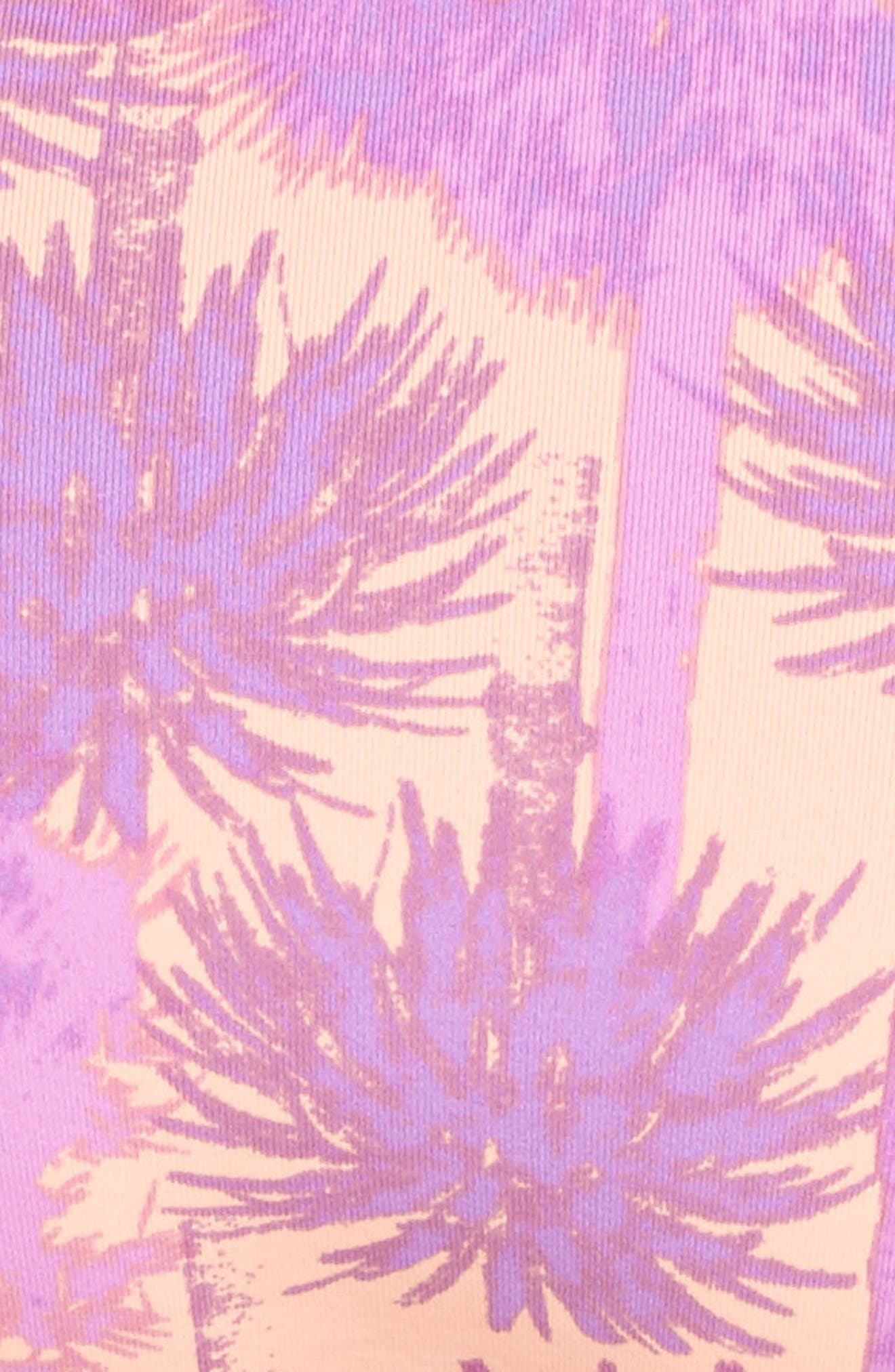 Alternate Image 5  - Maaji Pink Sunset Reversible Bikini Bottoms