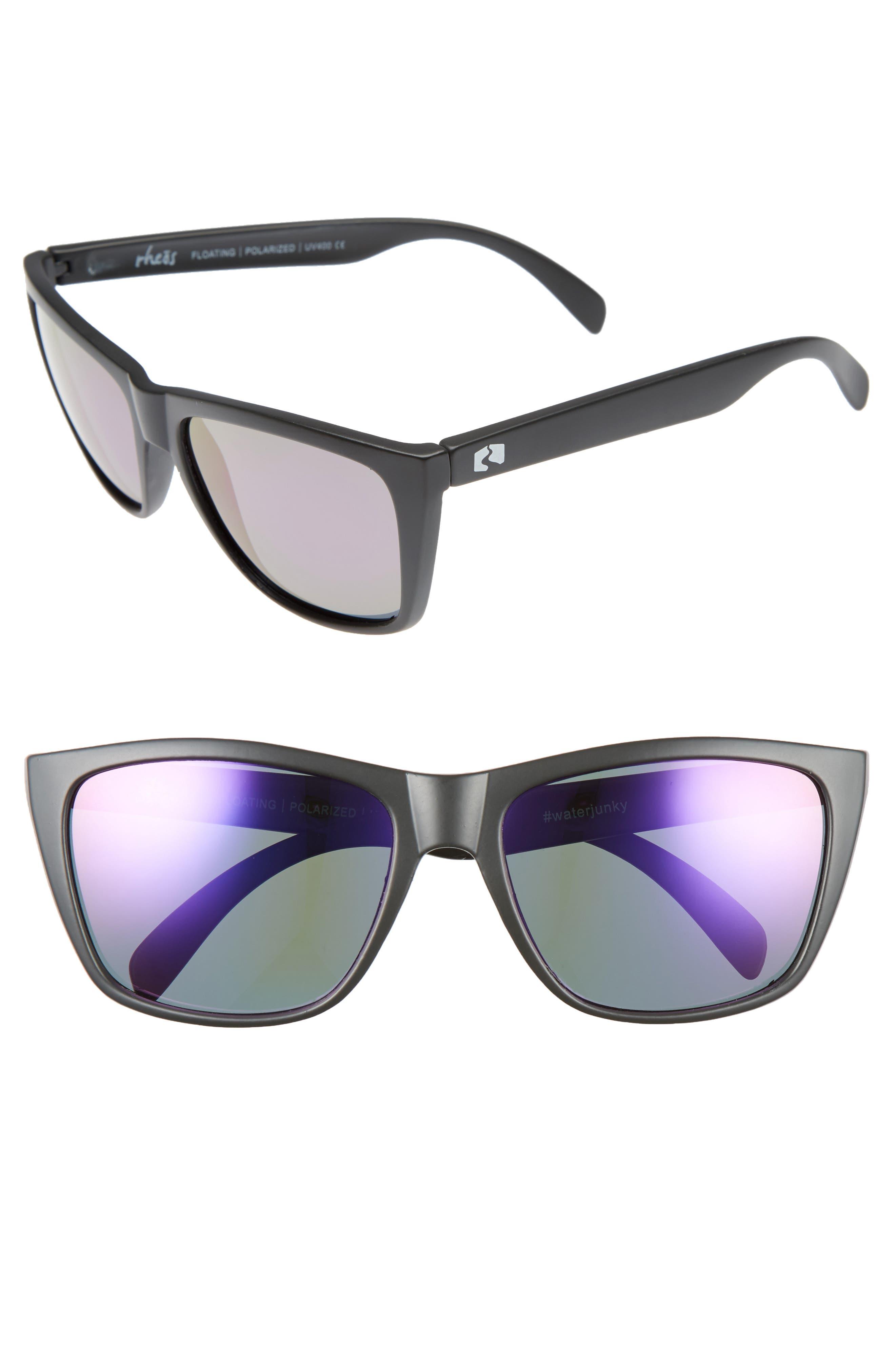 Alternate Image 1 Selected - Rheos Sapelos Floating 61mm Polarized Sunglasses