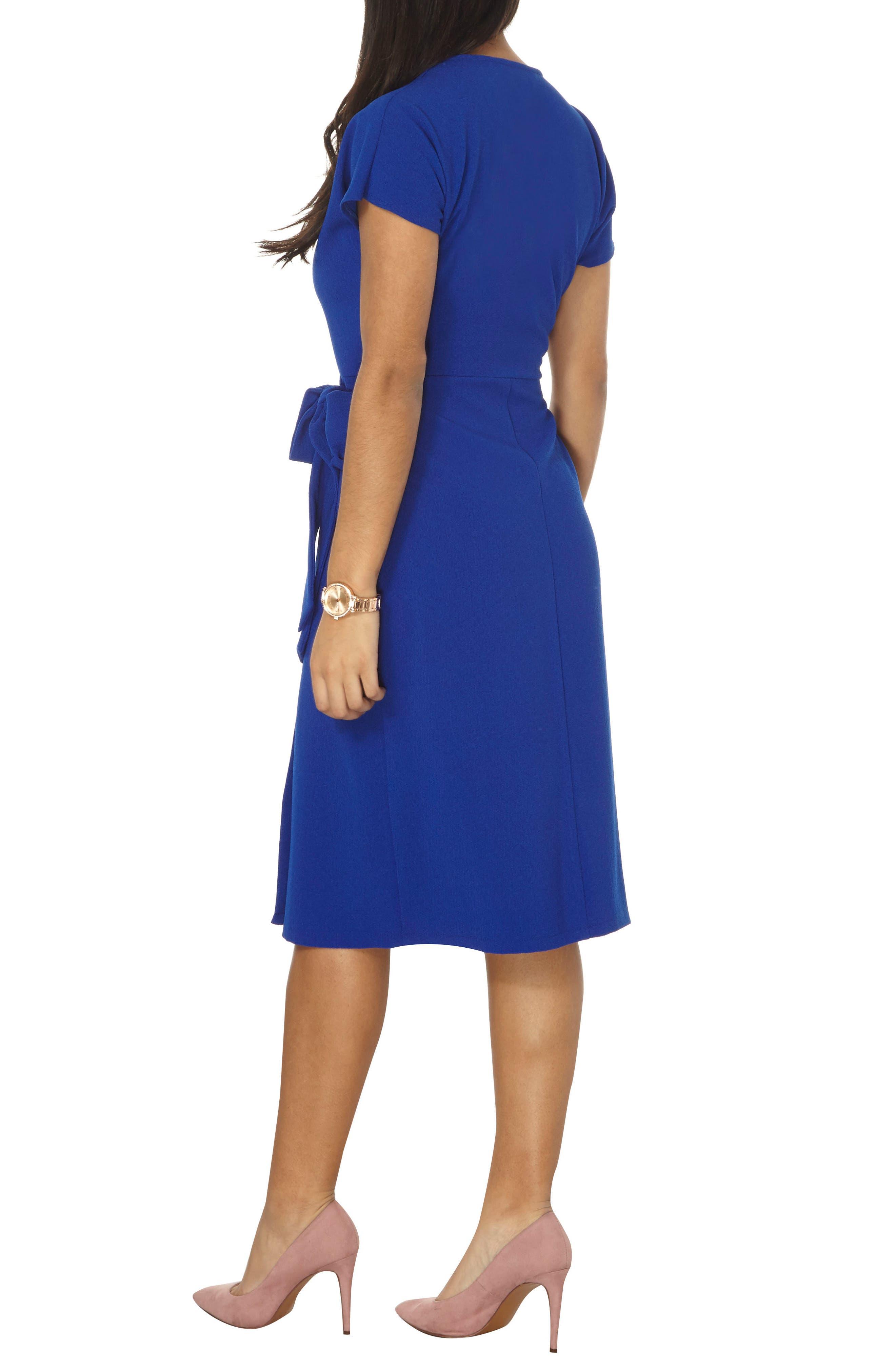 Alternate Image 2  - Dorothy Perkins Wrap Midi Dress